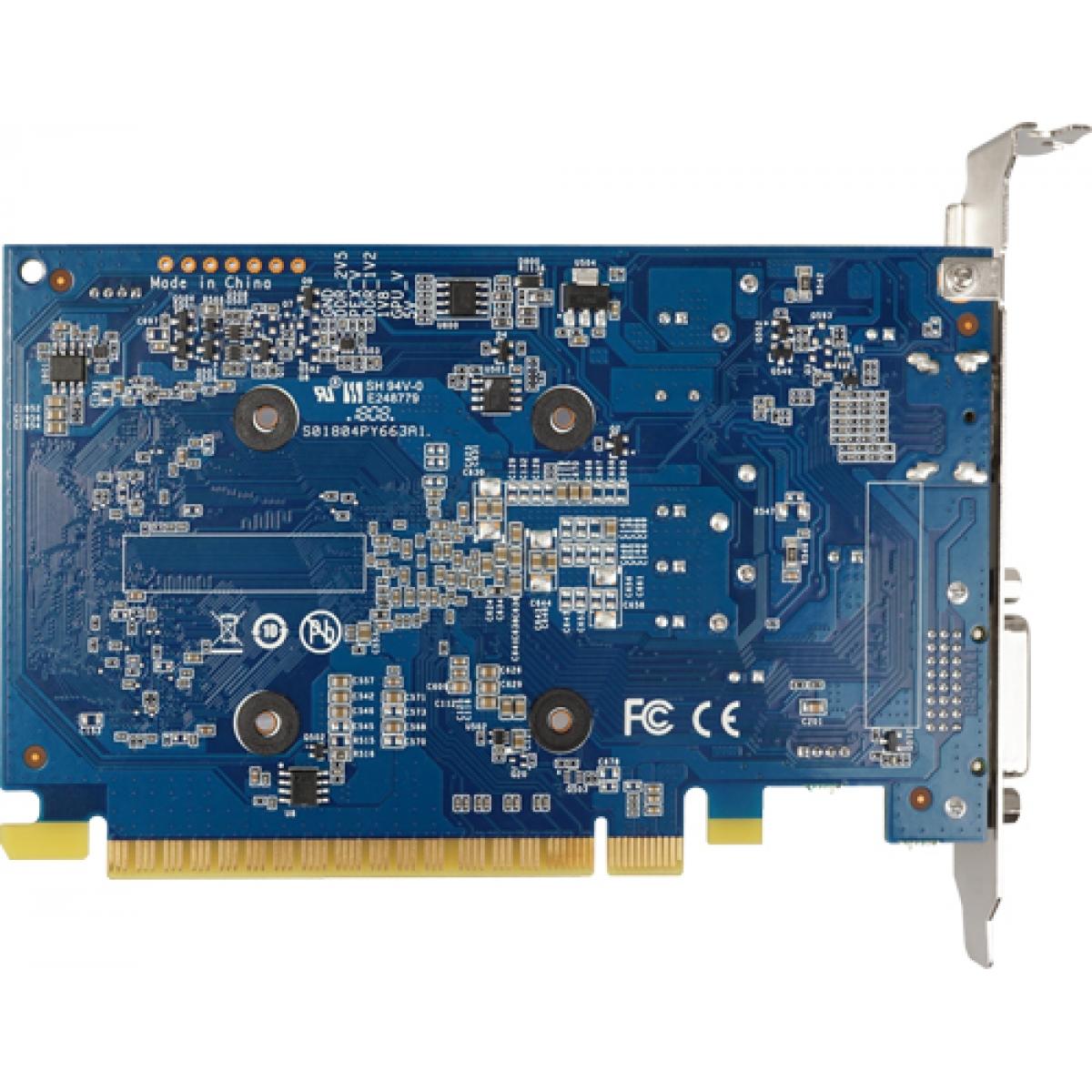 Placa de Vídeo Galax GeForce GT 1030 2GB 30NPK4HVQ4BG DDR4 PCI-EXP