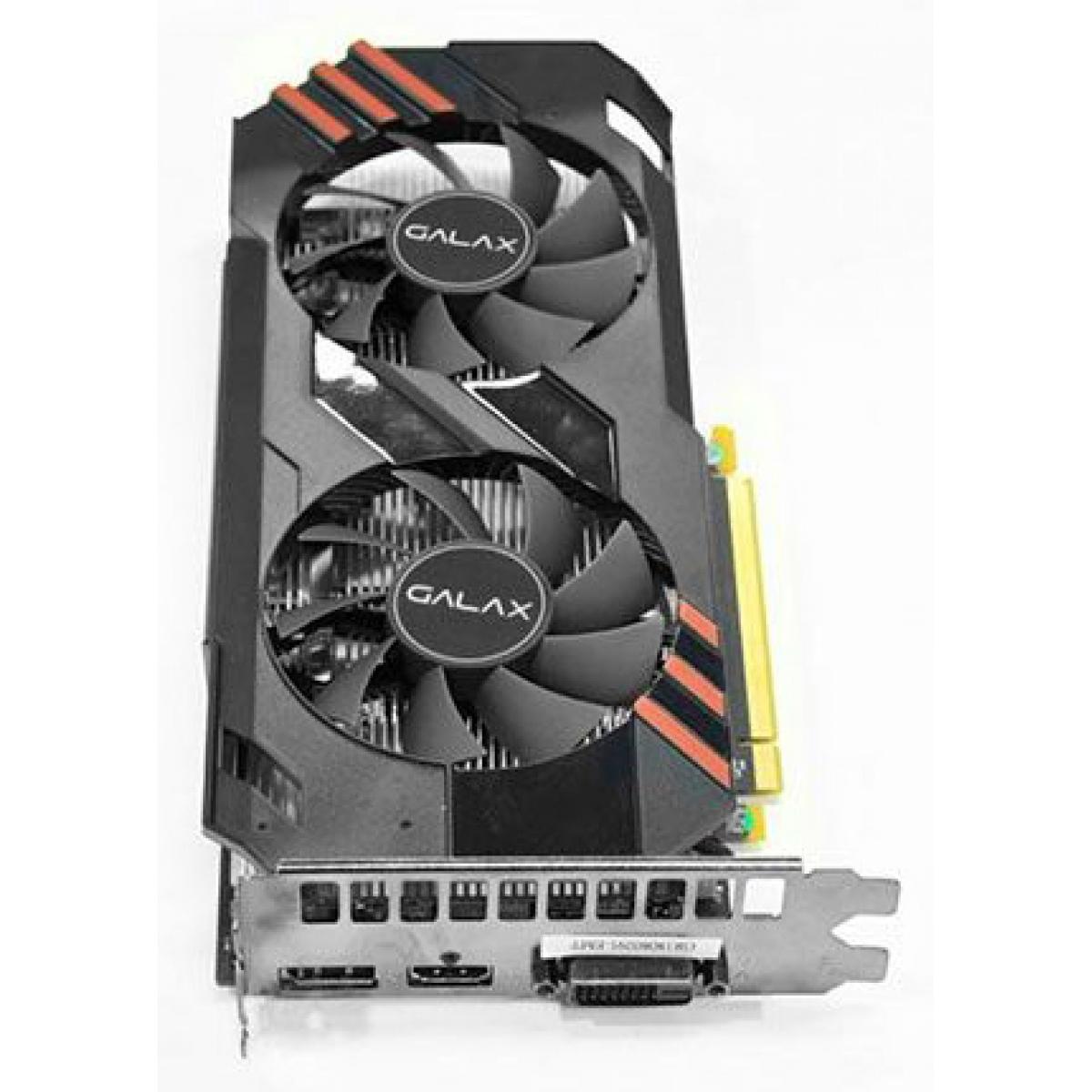 Placa de Vídeo Galax GeForce GTX 1060 OC Dual, 6GB GDDR5, 192Bit, 60NRH7DSR4BY