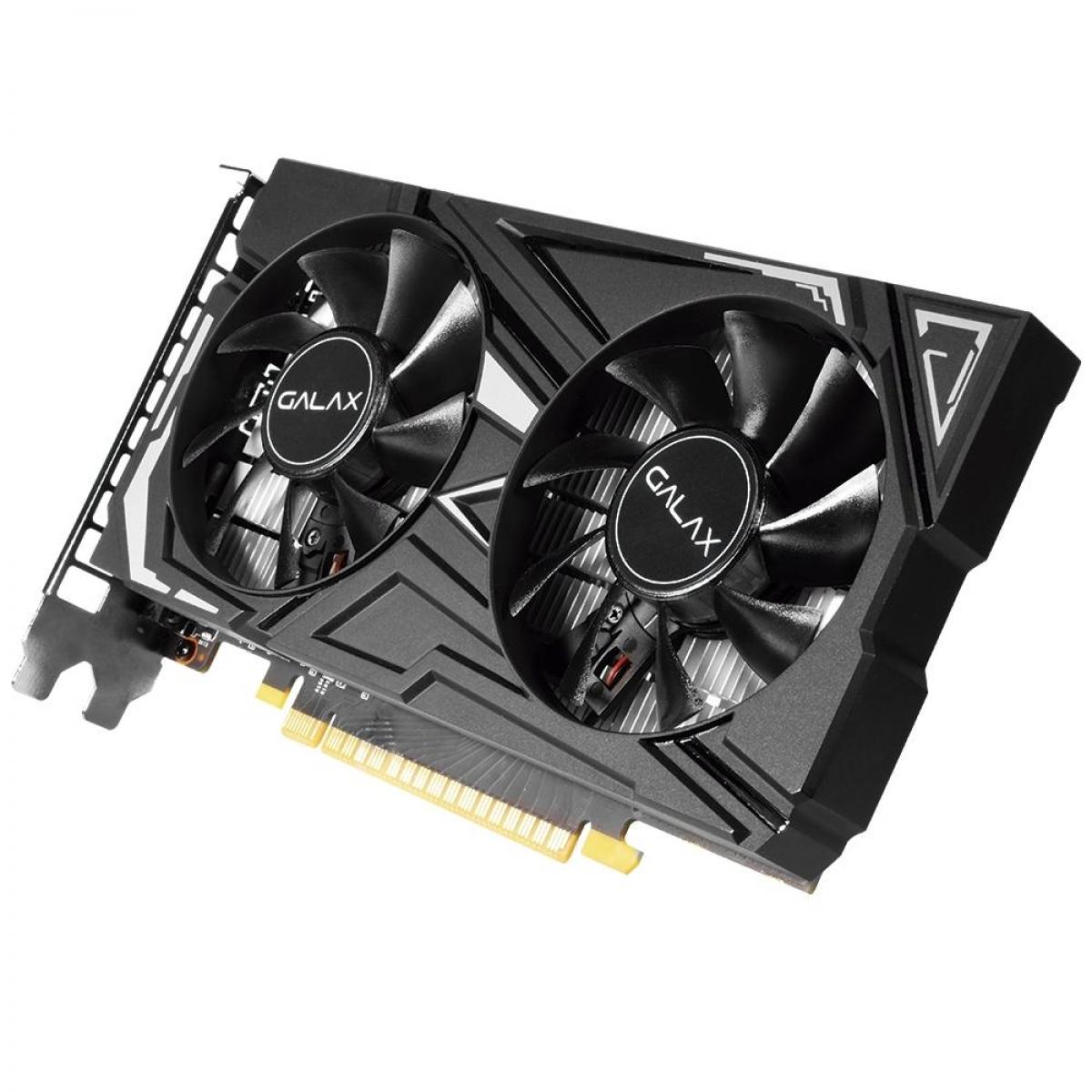Placa de Video Galax, GeForce, GTX 1650, 1 Click OC, Dual, 4GB, GDDR5, 128Bit, 65SQH8DS08EX