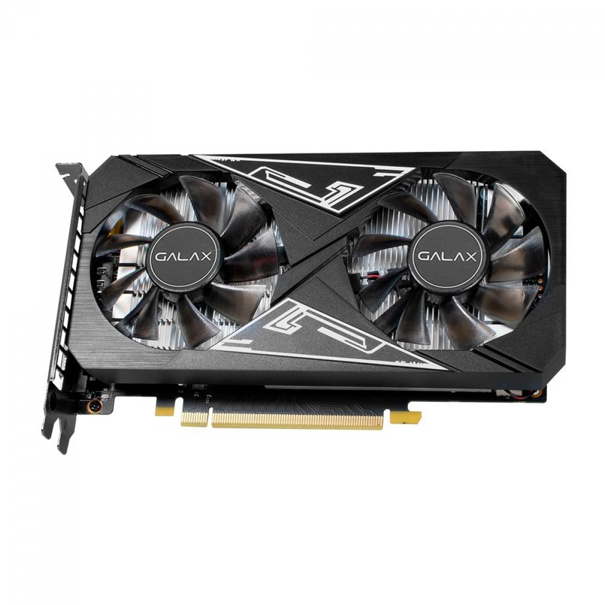 Placa de Vídeo Galax, GeForce, GTX 1650 EX PLUS, 4GB, 1-Click OC, GDDR6, 128-bit, 65SQL8DS93E1
