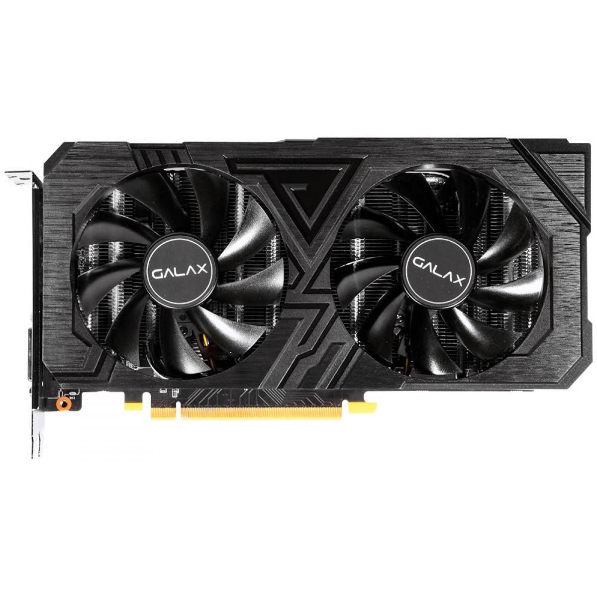 Placa de Vídeo Galax GeForce GTX 1660 Super EX (1-Click OC) Dual, 6GB GDDR6, 192Bit, 60SRL7DS03ES