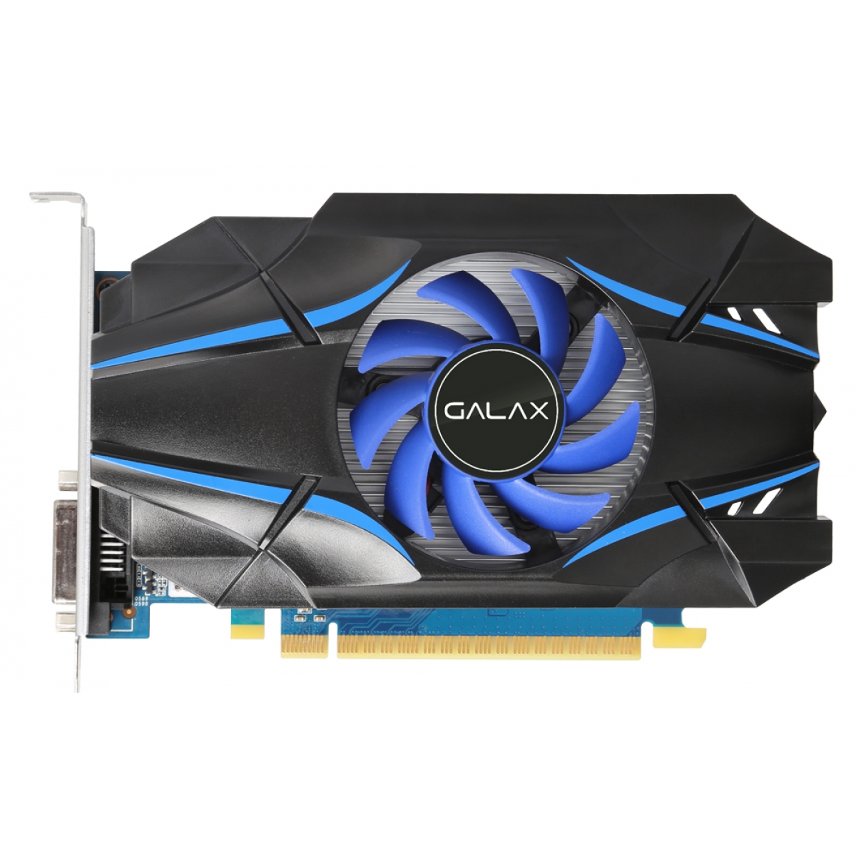 Placa de Vídeo Galax GeForce GT 1030 2GB 30NPH4HVQ4ST GDDR5 PCI-EXP