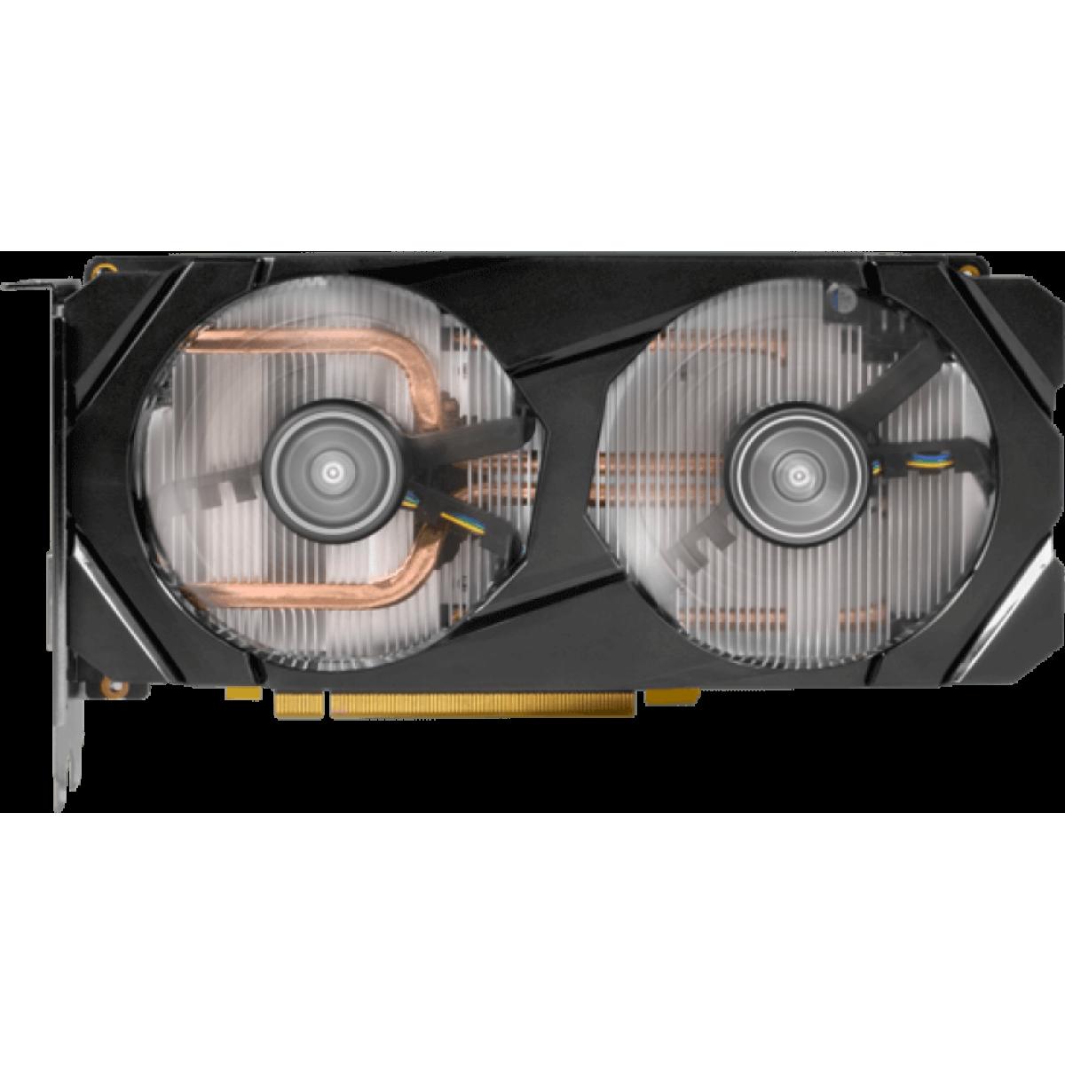 Placa de Vídeo Galax Geforce RTX 2060 OC Dual, 6GB GDDR6, 192Bit, 26NRL7HPX7OC