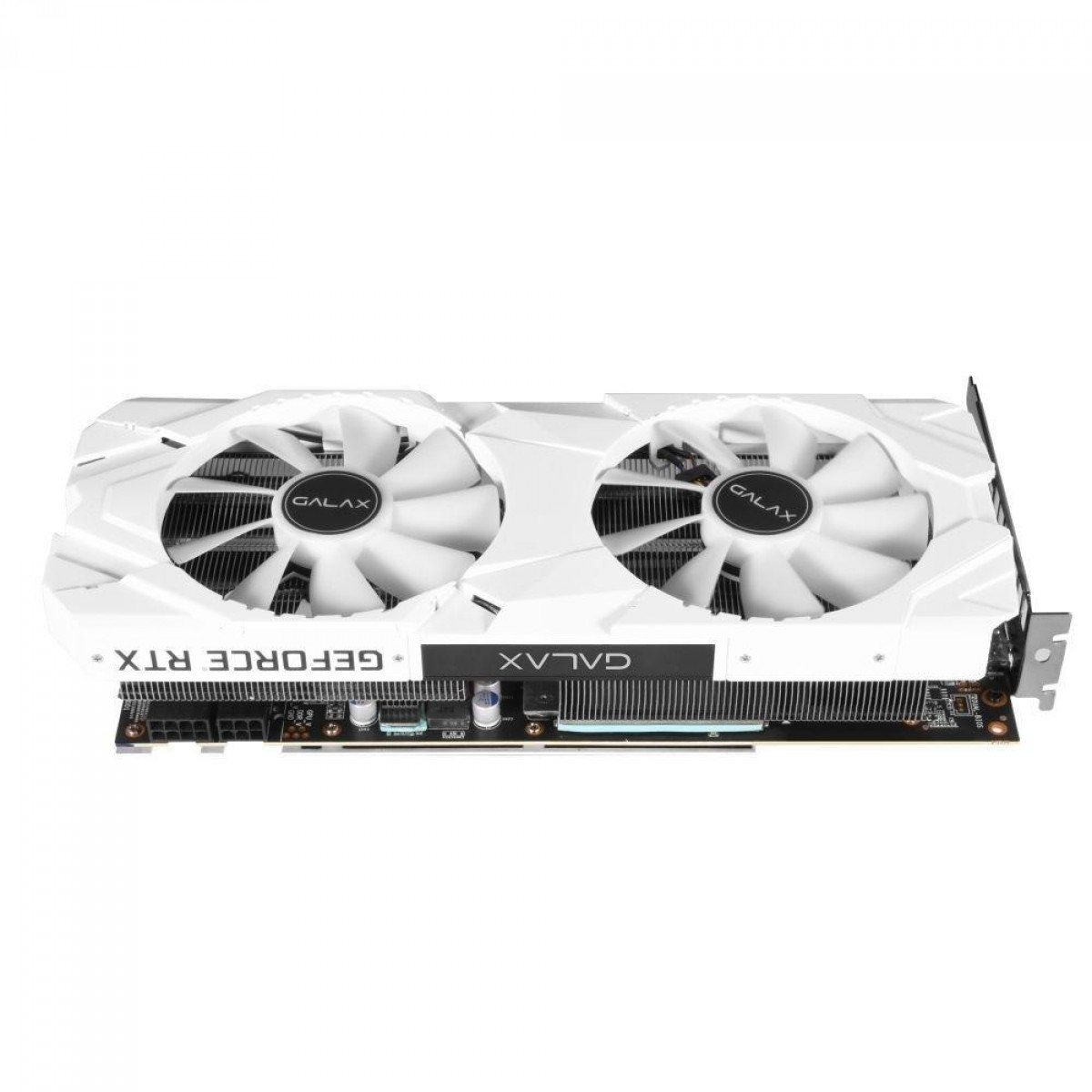 Placa de Vídeo Galax, Geforce RTX 2060 Plus Ex White Dual (1-Click OC), 6GB, GDDR6, 192Bit, 26NRL7MPX6AZ
