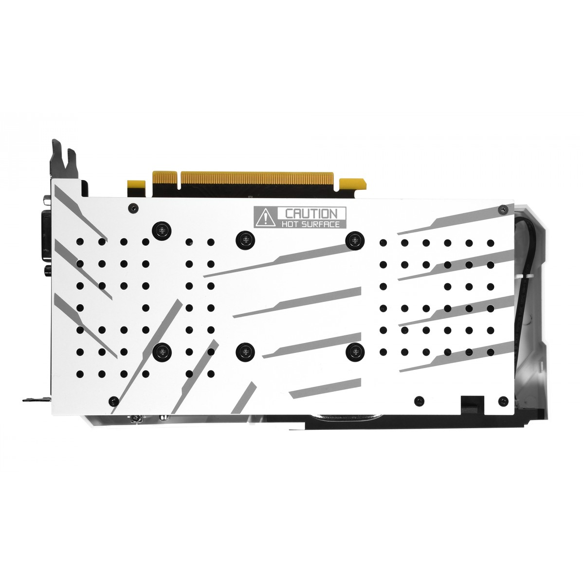 Placa de Vídeo Galax, Geforce RTX 2060 Ex White Dual (1-Click OC), 6GB, GDDR6, 192Bit, 26NRL7HPY3EW
