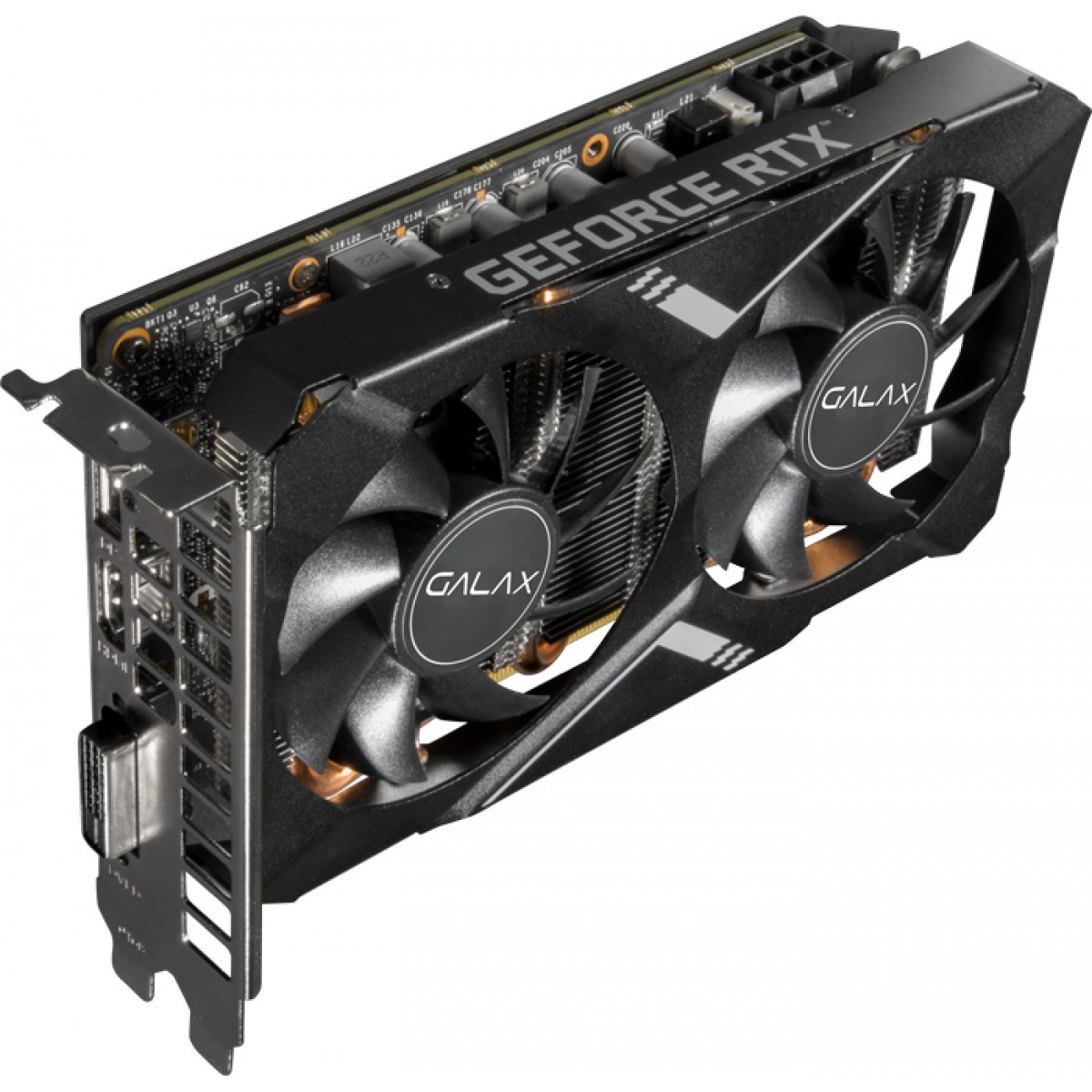 Placa de Vídeo Galax GeForce RTX 2060 Super Elite, 8GB GDDR6, 256Bit, 26ISL6HP09MN