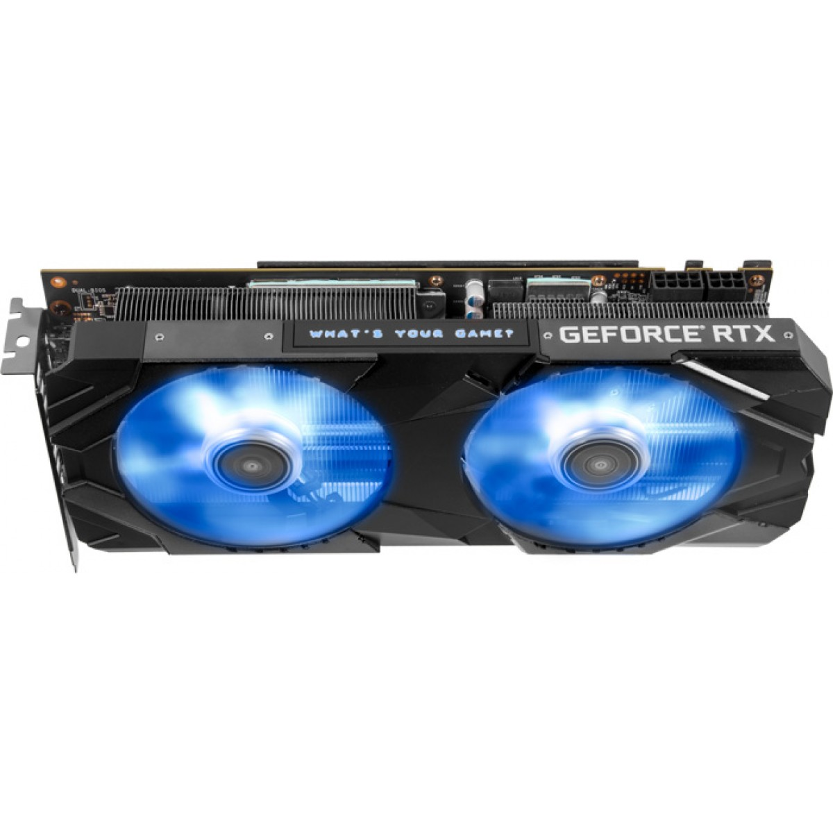 Placa de Vídeo Galax GeForce RTX 2060 Super EX (1-Click OC), 8GB GDDR6, 256Bit, 26ISL6MPX2EX