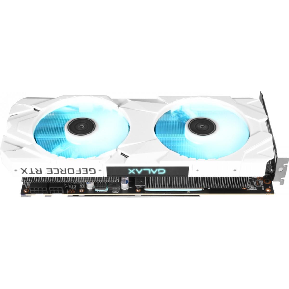 Placa de Vídeo Galax Geforce RTX 2060 Super Ex White Dual (1-Click OC), 8GB GDDR6, 256Bit, 26ISL6MPX6EW