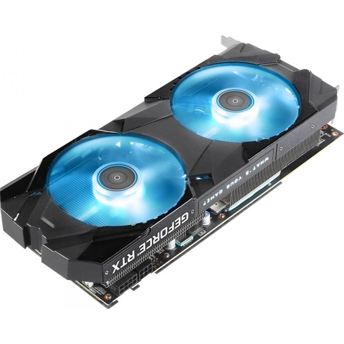 Placa de Vídeo Galax GeForce RTX 2070 Super EX (1-Click OC), 8GB GDDR6, 256Bit, 27ISL6MDU9EX