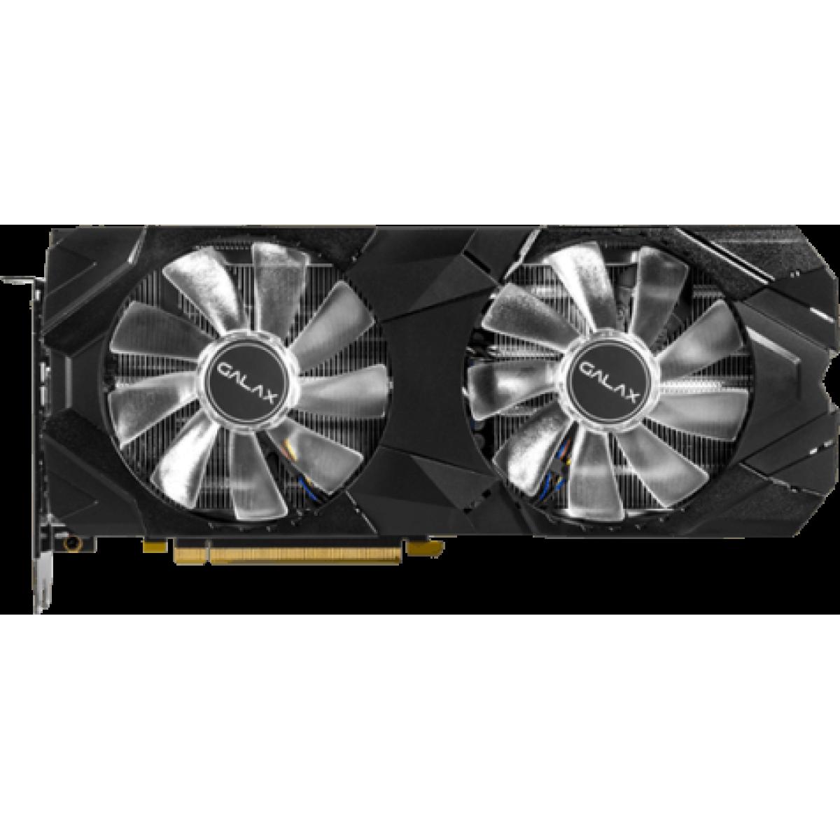Placa de Vídeo Galax Geforce RTX 2080 EX (1-Click OC) Dual, 8GB GDDR6, 256Bit, 28NSL6MDU9E2