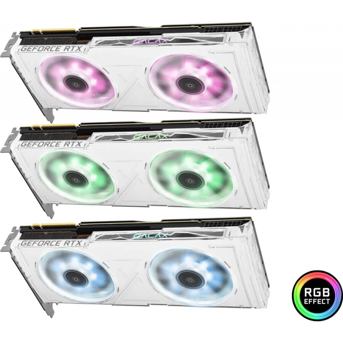 Placa de Vídeo Galax Geforce RTX 2080 Ti OC White Dual, 11GB GDDR6, 352Bit, 28IULBUCU4KW
