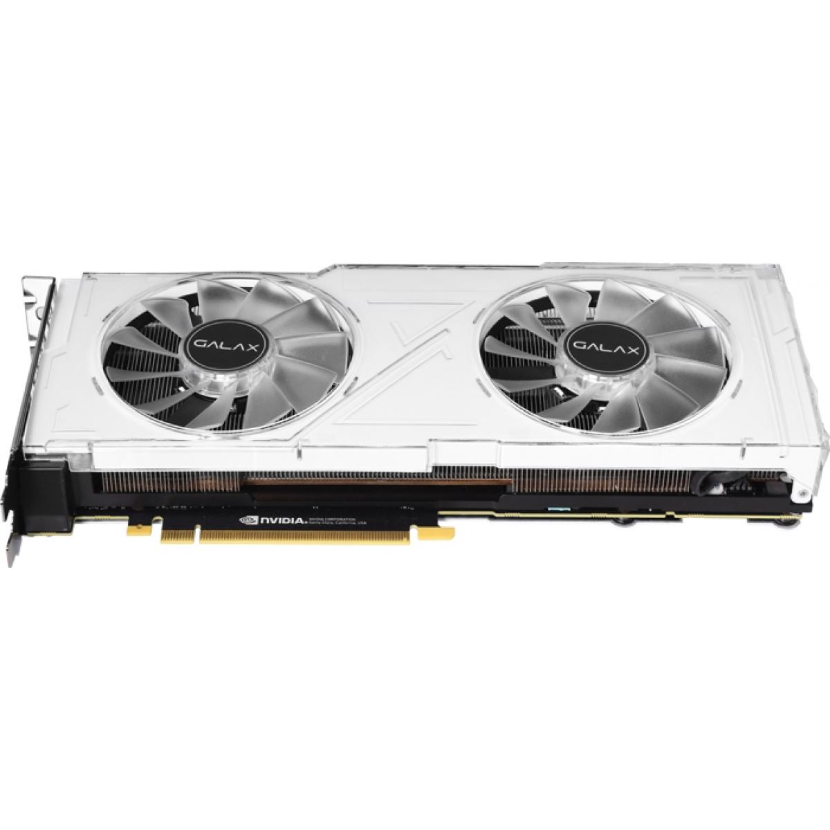Placa de Vídeo Galax Geforce RTX 2080 Ti White (1-Click OC) Dual, 11GB GDDR6, 352Bit