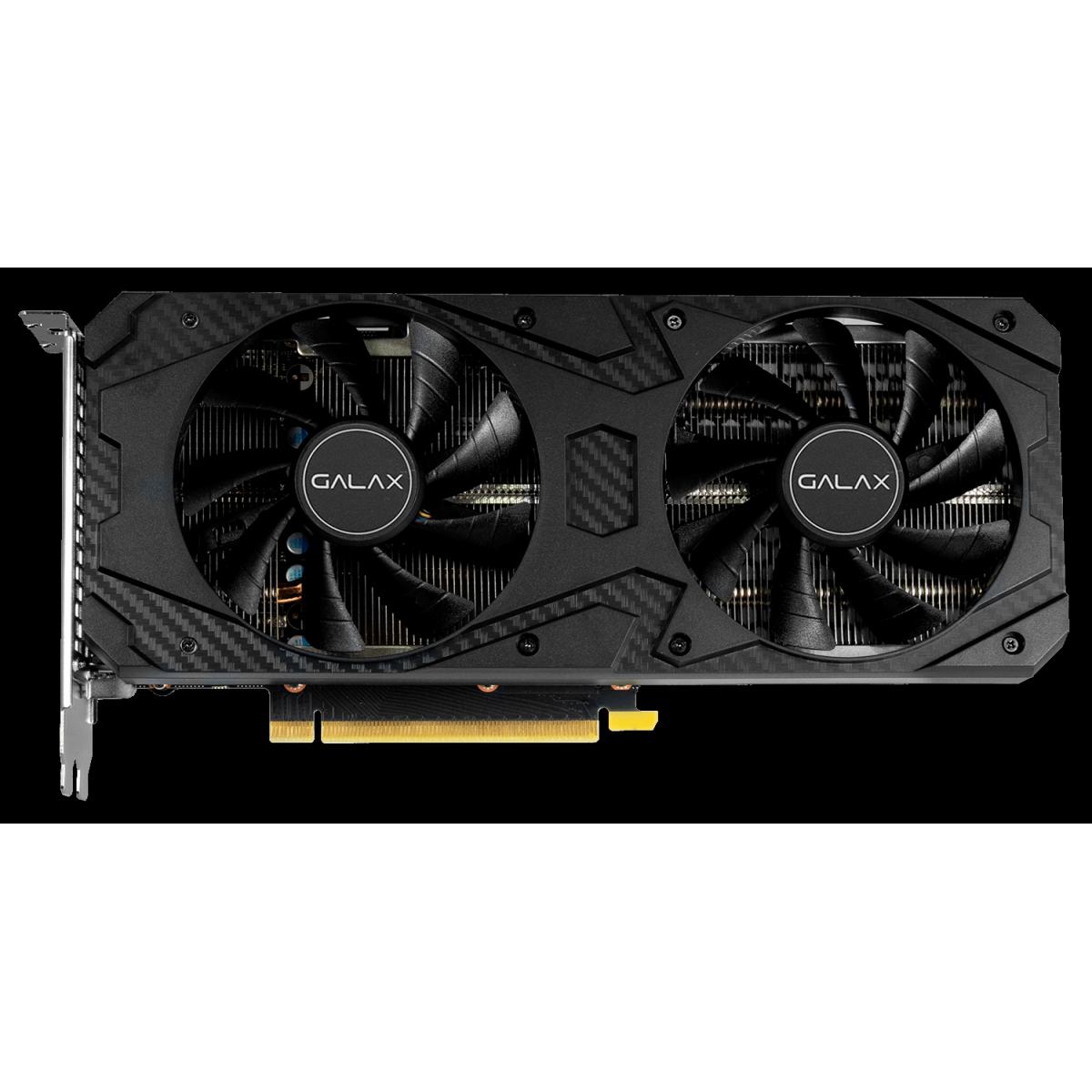 Placa de Video GALAX, GeForce RTX 3060 (1-Click OC), 12GB, GDDR6, 192bit, LHR, 36NOL7MD1VOC