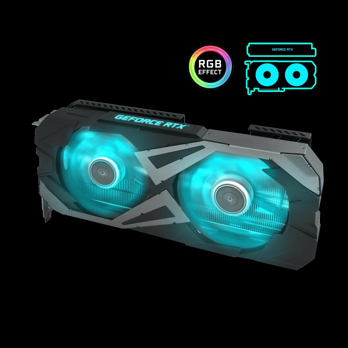 Placa de Vídeo Galax, GeForce, RTX 3060 Ti EX, 8GB, 1-Click OC, GDDR6, 256-bit, 36ISL6MD1WGG