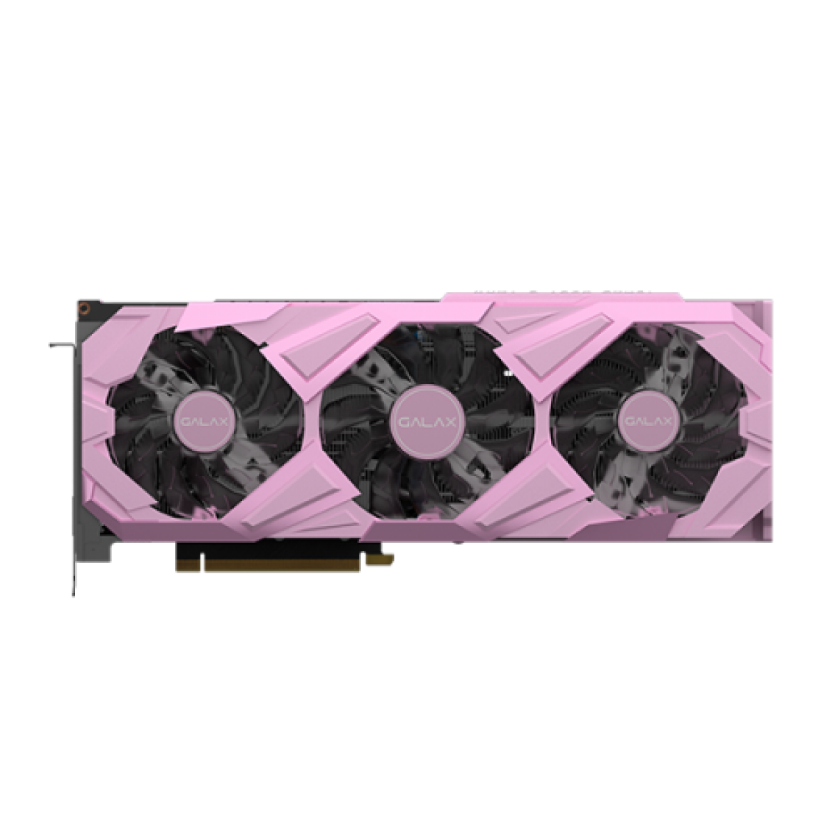 Placa de Vídeo Galax, GeForce, RTX 3080 EX Gaming Pink, 1 Click OC, 10GB, GDDR6X, 320Bit,