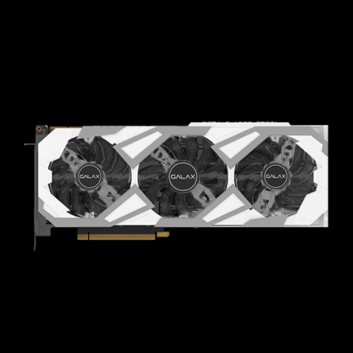 Placa de Vídeo Galax, GeForce, RTX 3090 EX Gaming White, 1 Click OC, 24GB, GDDR6X, 384Bit,