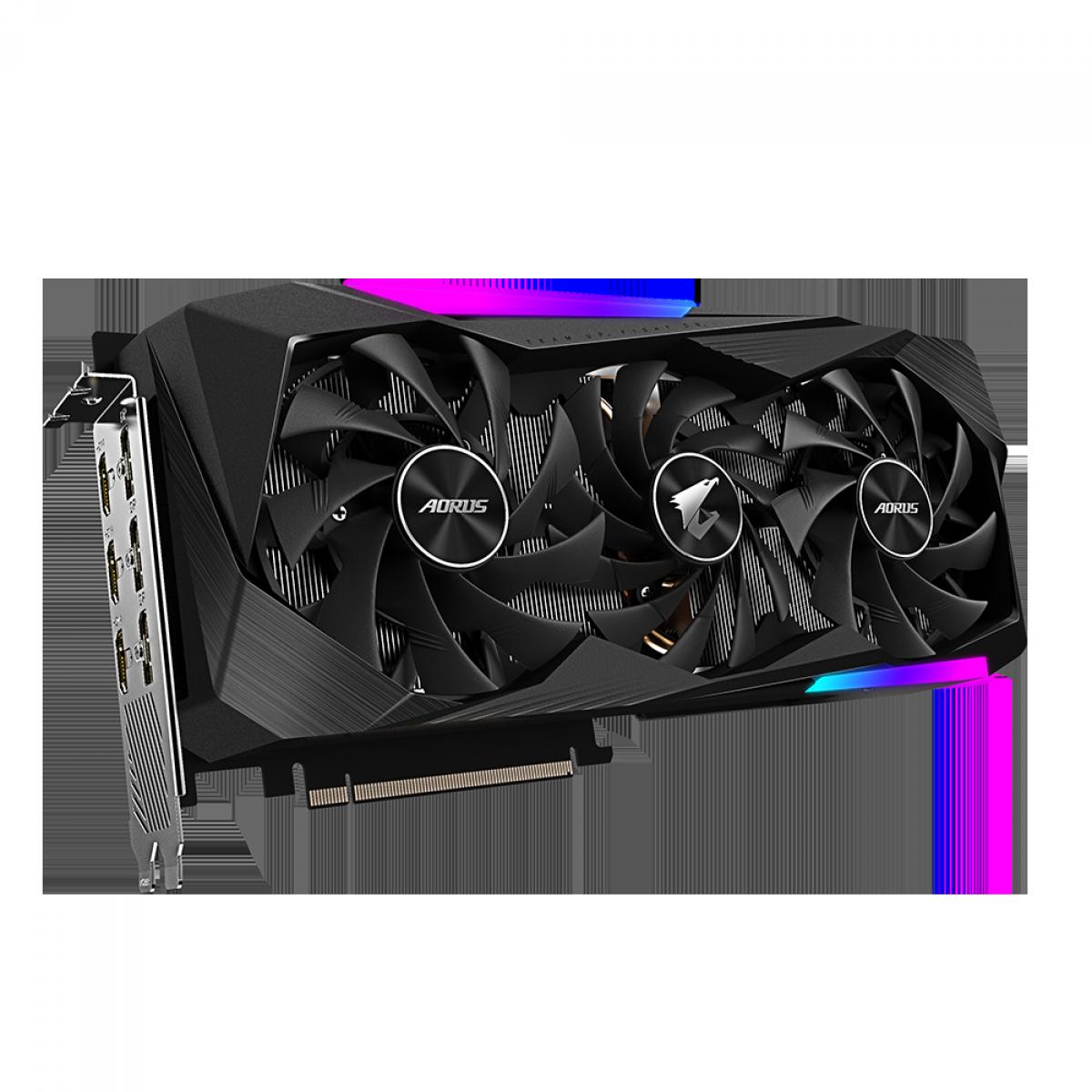 Placa de Vídeo Gigabyte AORUS GeForce RTX 3070 Master, 8GB, GDDR6, 256bit, GV-N3070AORUS M-8GD