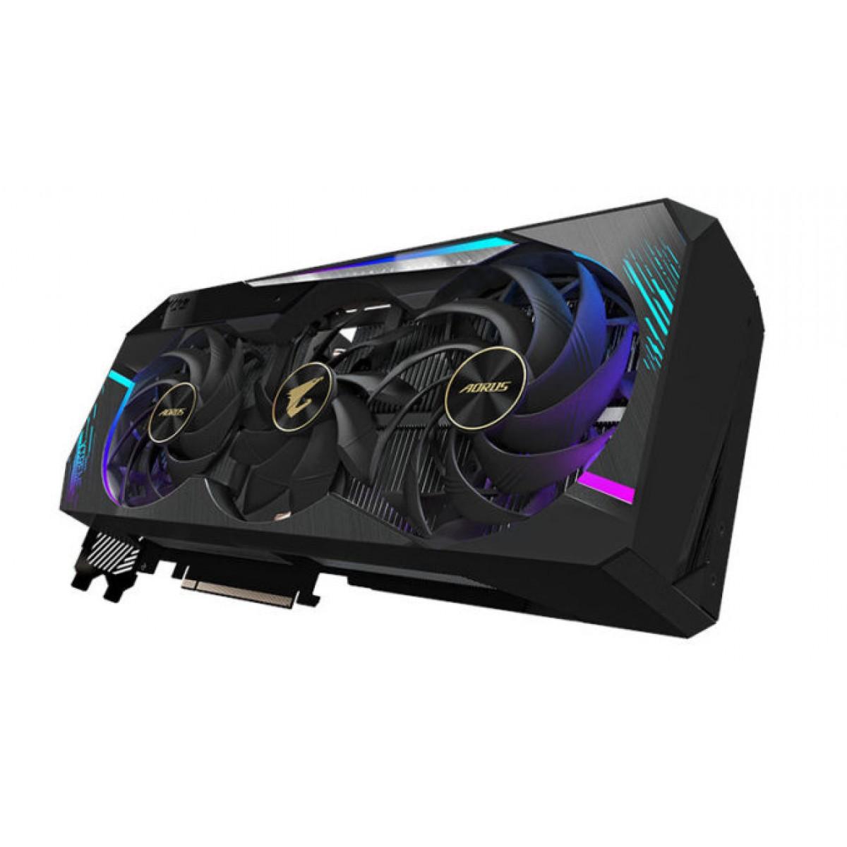 Placa de Vídeo Gigabyte GeForce, Aorus RTX 3090 XTREME 24G, 24GB, GDDR6X, 384Bit, GV-N3090AORUS X-24GD
