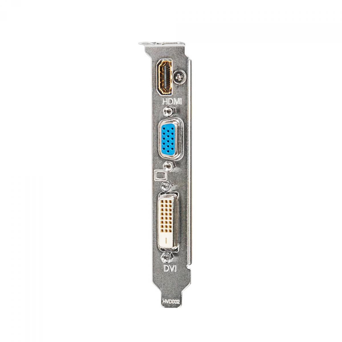Placa de Vídeo Gigabyte GeForce GT 730, 1GB, DDR3, 64bit, GV-N730D3-1GI