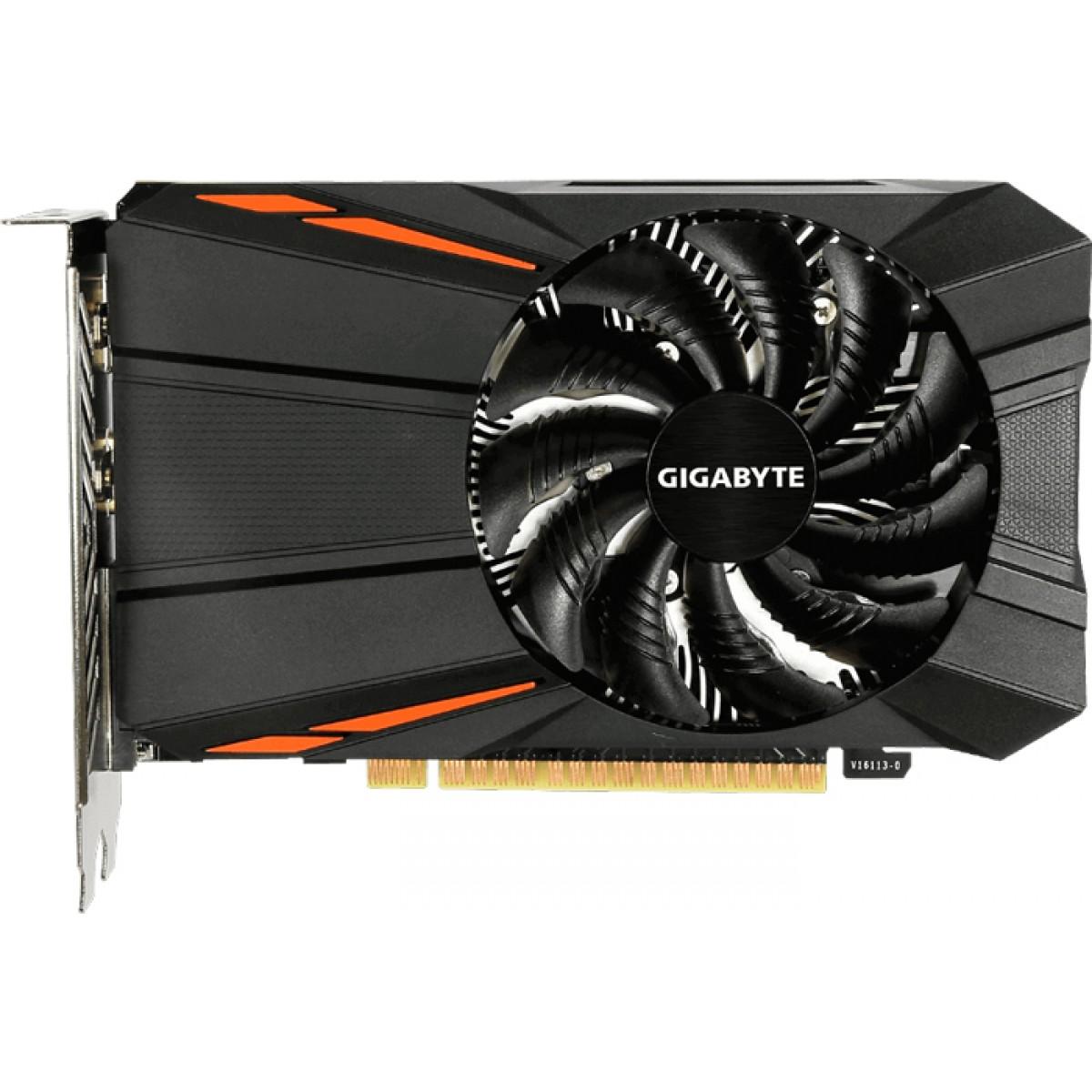 Placa de Vídeo Gigabyte GeForce GTX 1050 D5, 3GB GDDR5, 96Bit, GV-N1050D5-3GD