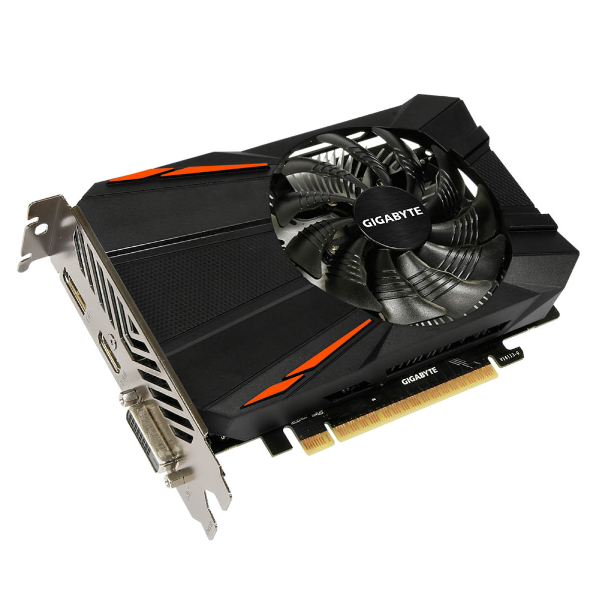 Placa de Vídeo Gigabyte GeForce GTX 1050 Ti, 4GB, GDDR5, 128bit, GV-N105TD5-4GD