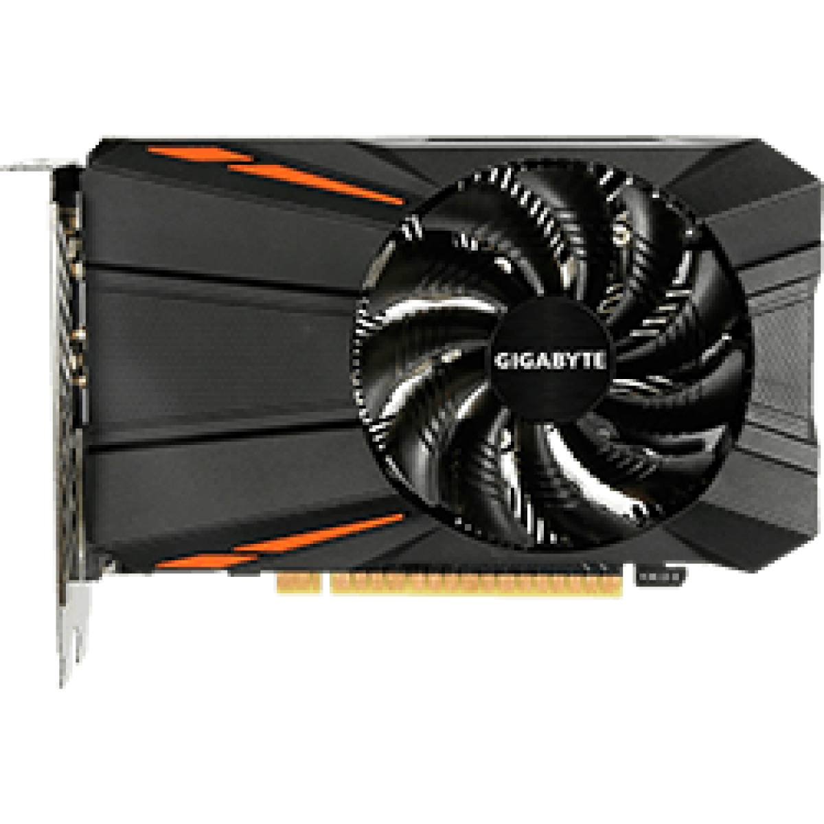 Placa de Vídeo Gigabyte GeForce GTX 1050 Ti D5, 4GB GDDR5, 128Bit