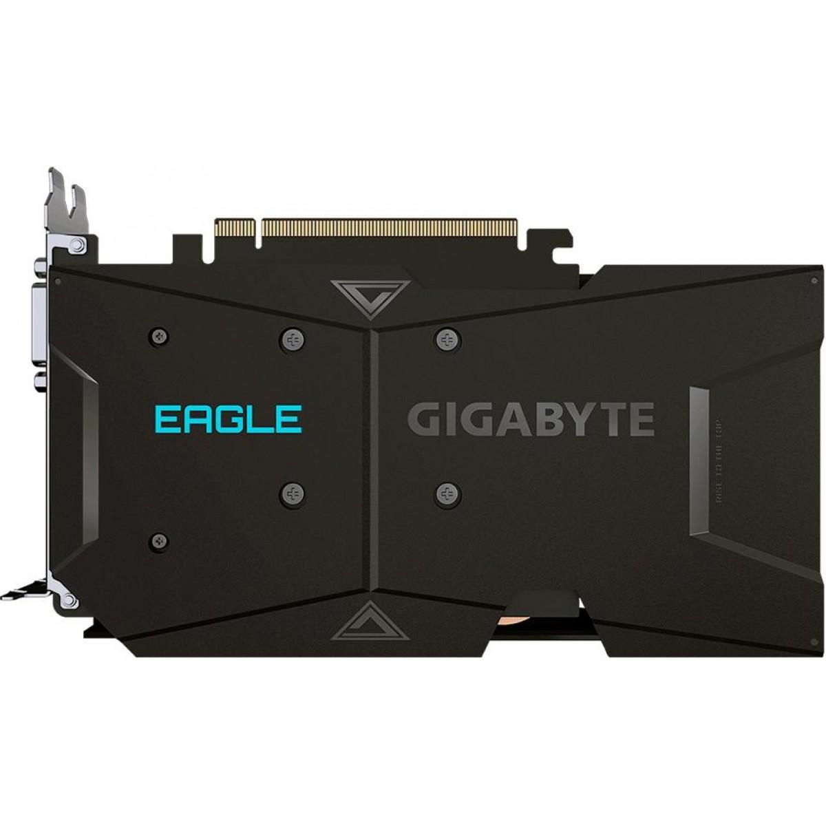 Placa de Video Gigabyte, GeForce, GTX 1650 D6 Eagle OC 4G, Dual, 4GB, GDDR6, 128Bit, GV-N1656EAGLE OC-4GD