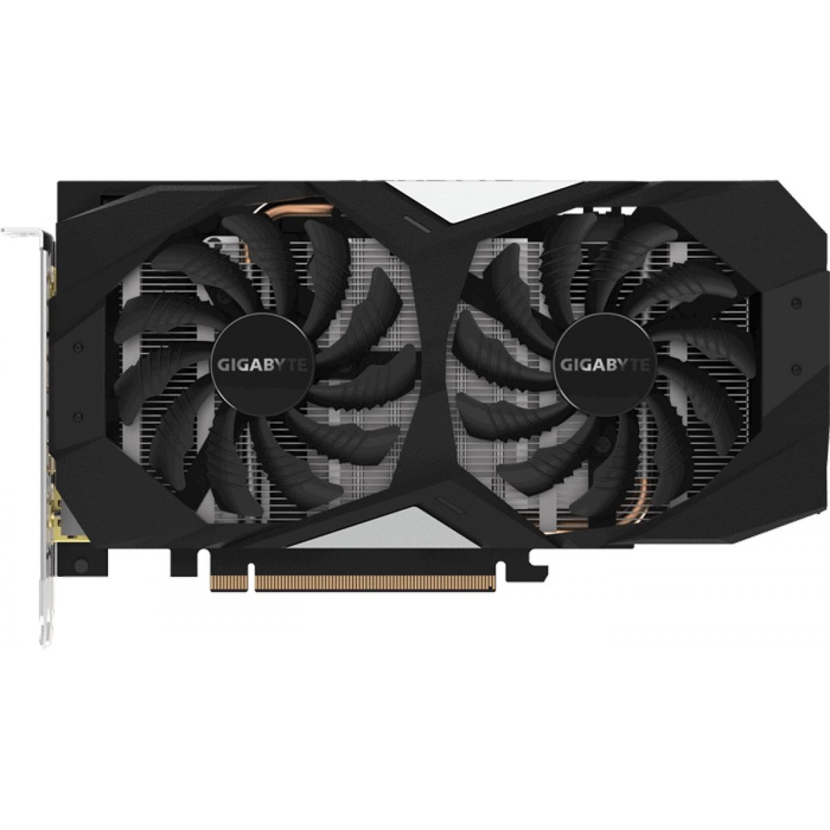 Placa de Vídeo Gigabyte GeForce GTX 1660 OC Dual, 6GB GDDR5, 192Bit, GV-N1660OC-6GD