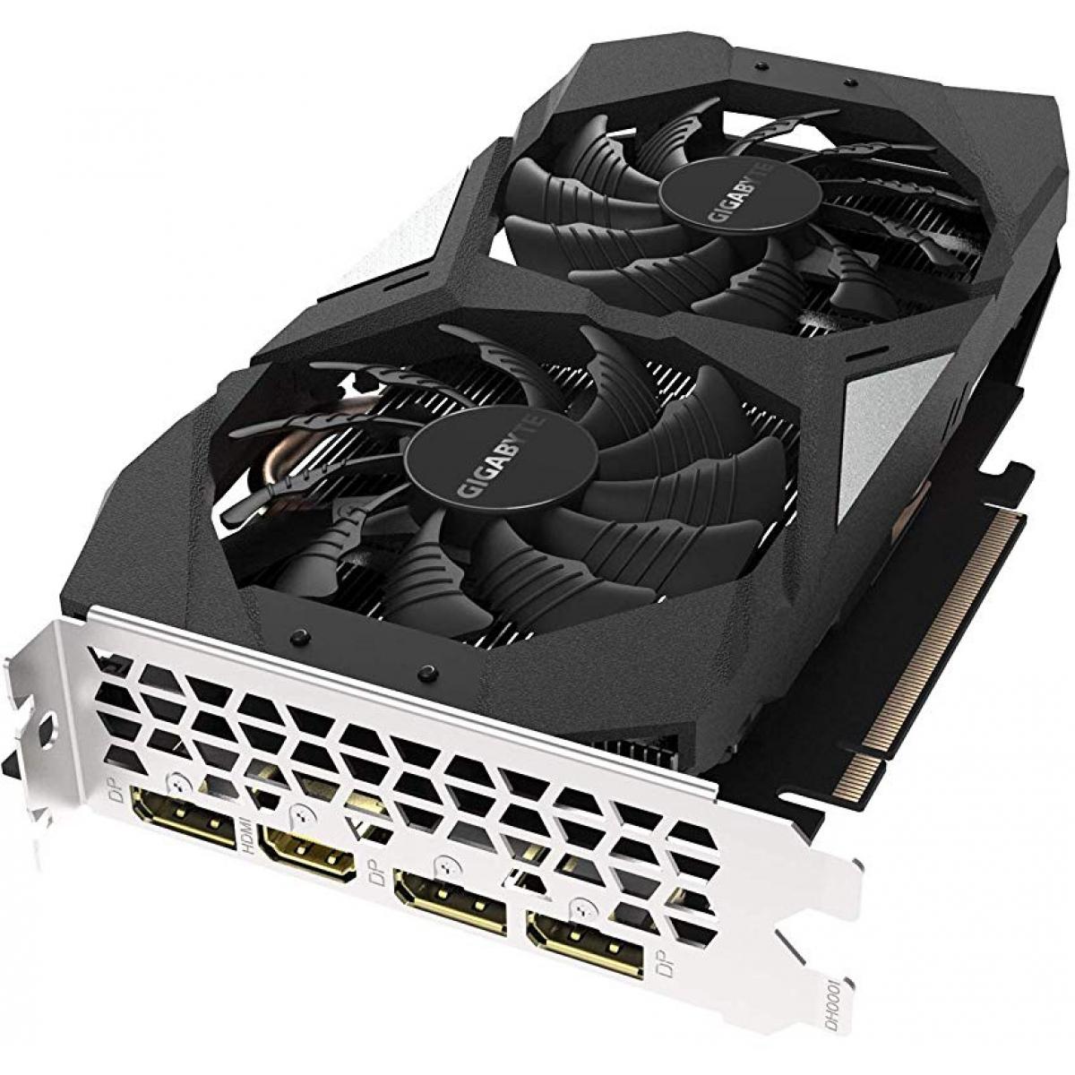 Placa de Vídeo Gigabyte GeForce GTX 1660 Ti OC Dual, 6GB GDDR6, 192Bit, GV-N166TOC-6GD