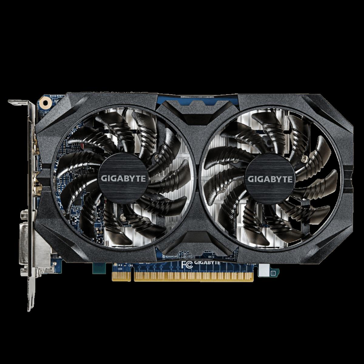 Placa de Vídeo Gigabyte GeForce GTX 750 Ti, 4GB, GDDR5, 128bit, GV-N75TWF2OC-4GI