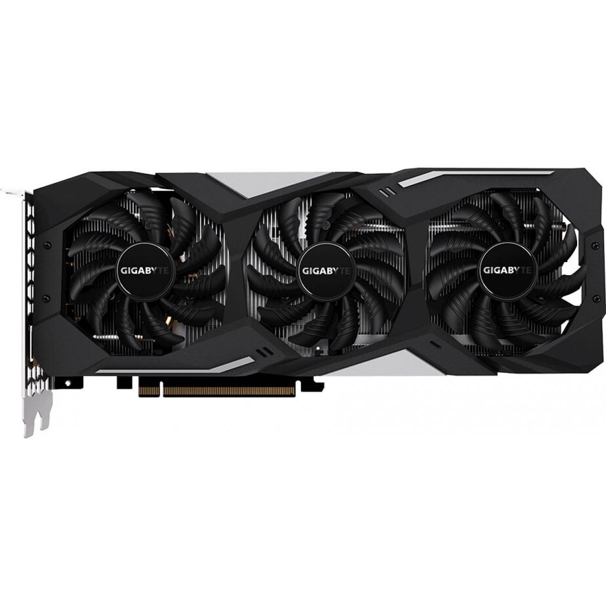 Placa de Vídeo Gigabyte Geforce RTX 2060 Gaming OC, 6GB GDDR6, 192Bit