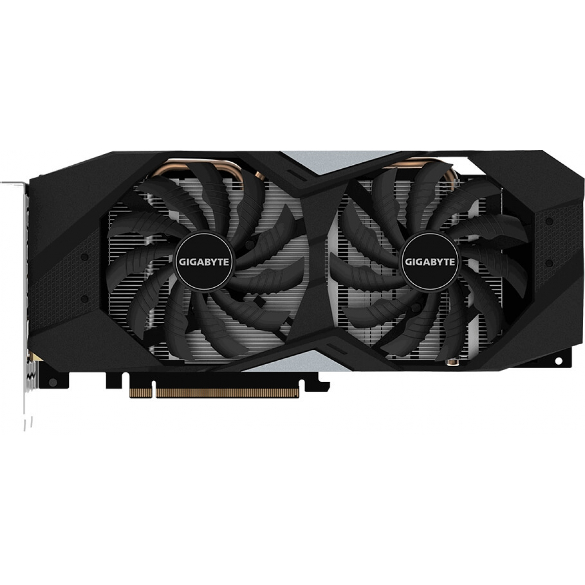 Placa de Vídeo Gigabyte Geforce RTX 2060 Windforce OC Dual, 6GB GDDR6, 192Bit