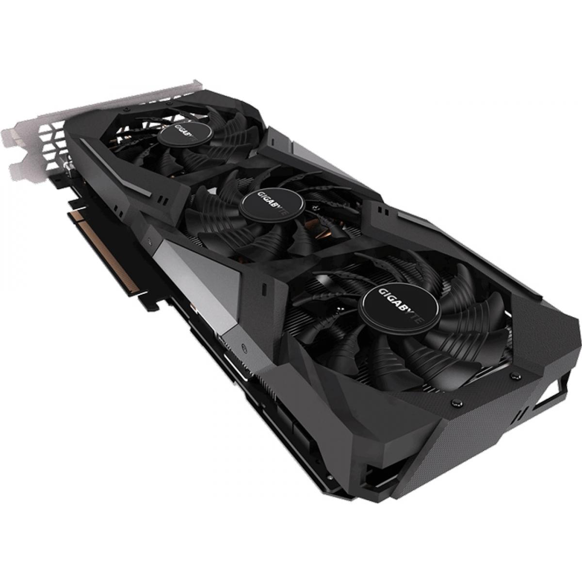 Placa de Vídeo Gigabyte Geforce RTX 2070 Gaming, 8GB GDDR6, 256Bit, GV-N2070GAMING-8GC