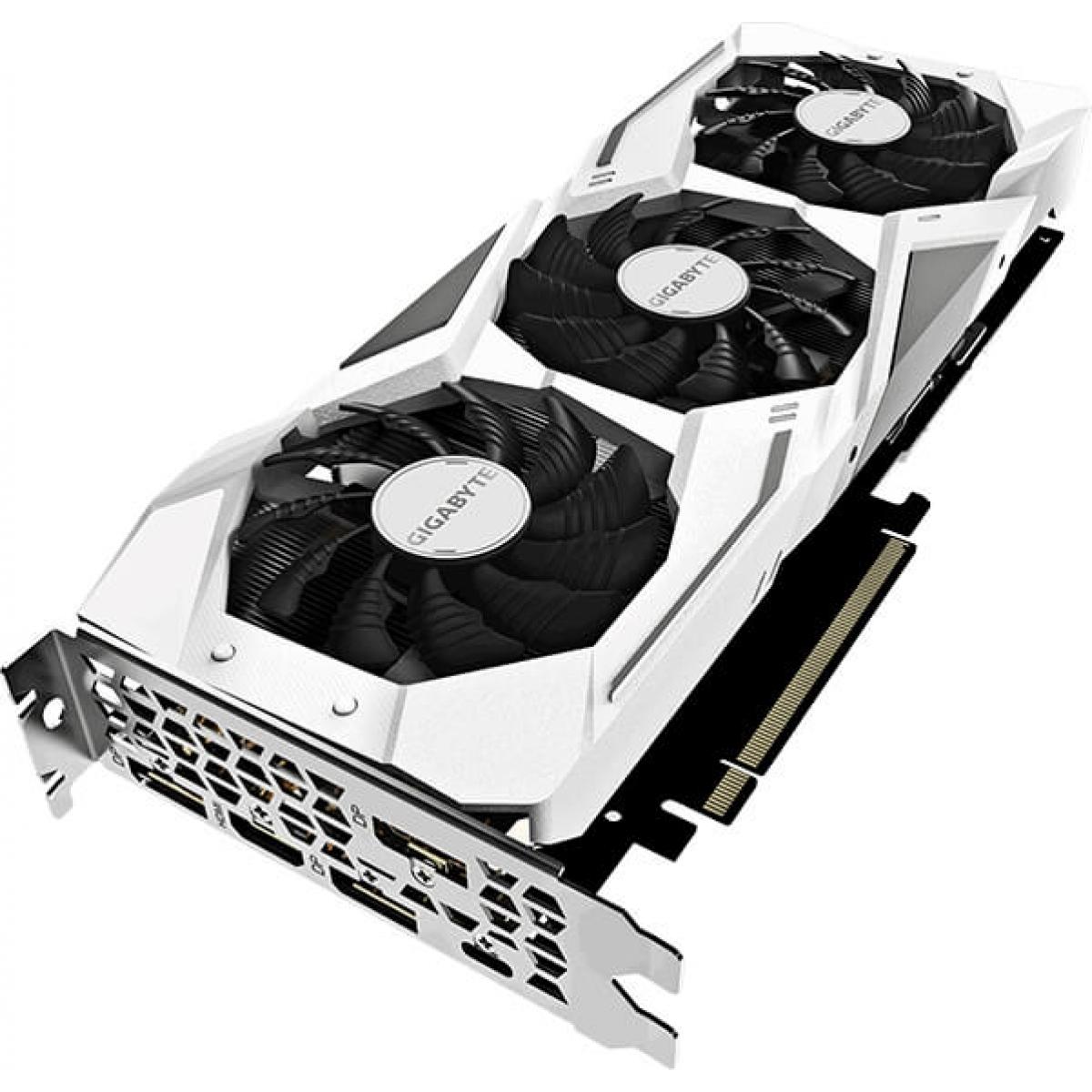 Placa de Vídeo Gigabyte Geforce RTX 2070 GAMING OC WHITE, 8GB GDDR6, 256Bit, GV-N2070GAMINGOC WHITE-8GC