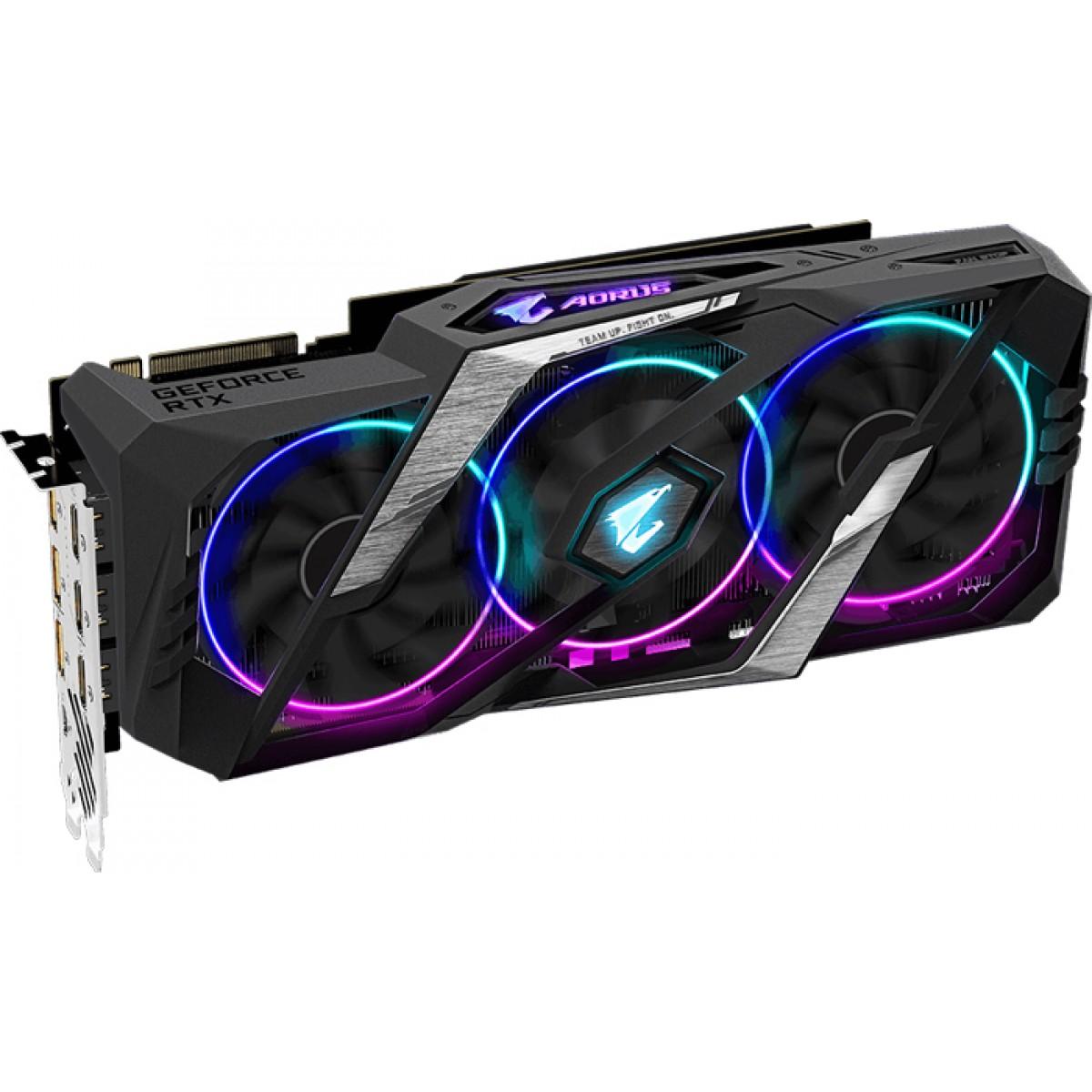 Placa de Vídeo Gigabyte GeForce RTX 2070 Super, 8GB GDDR6, 256Bit, GV-N207SAORUS-8GC