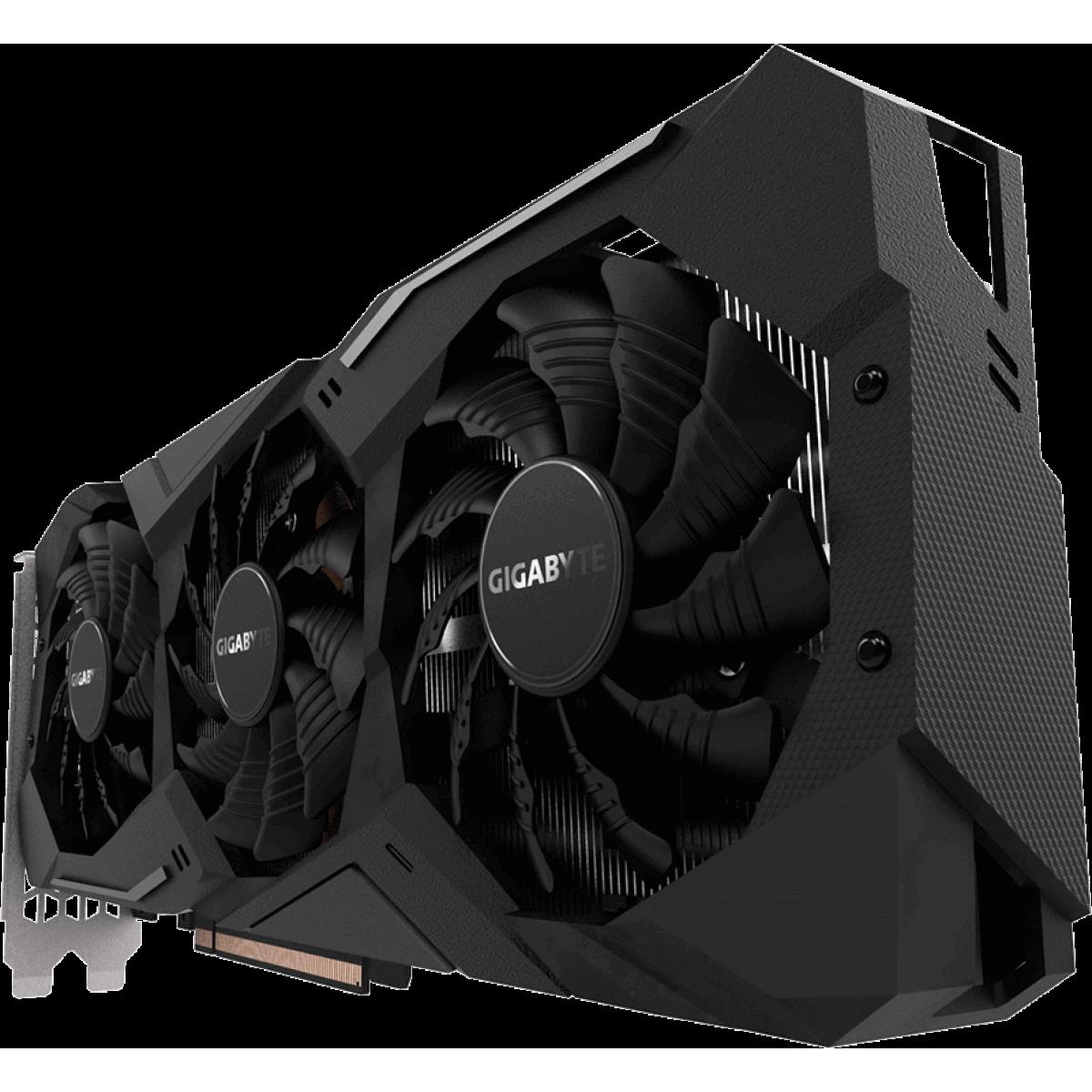 Placa de Vídeo Gigabyte Geforce RTX 2070 Windforce 8GB GV-N2070WF3-8GC GDDR6 PCI-EXP