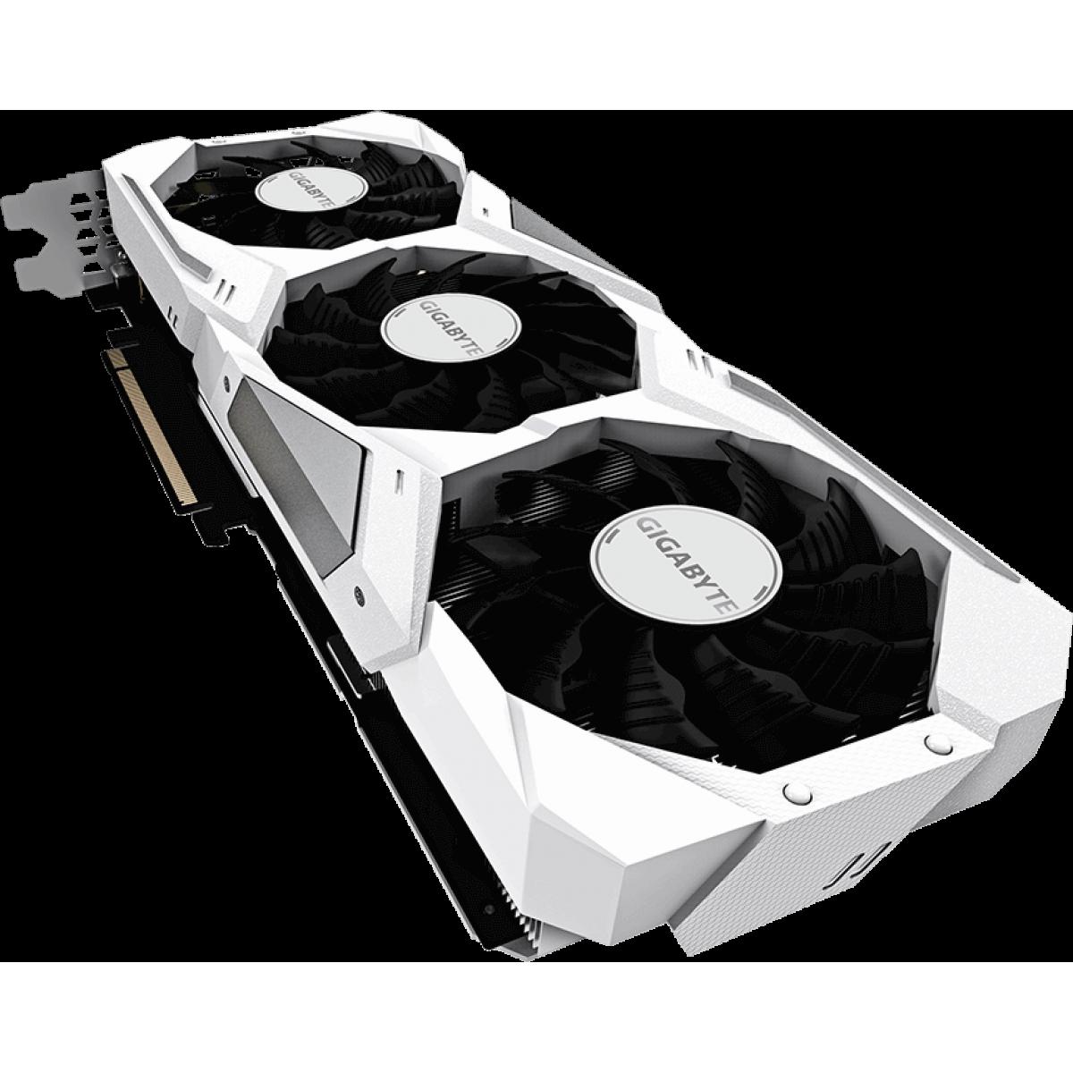 Placa De Vídeo Gigabyte Geforce RTX 2080 Gaming OC White, 8GB GDDR6, 256Bit, GV-N2080GAMINGOC-WHITE-8GC