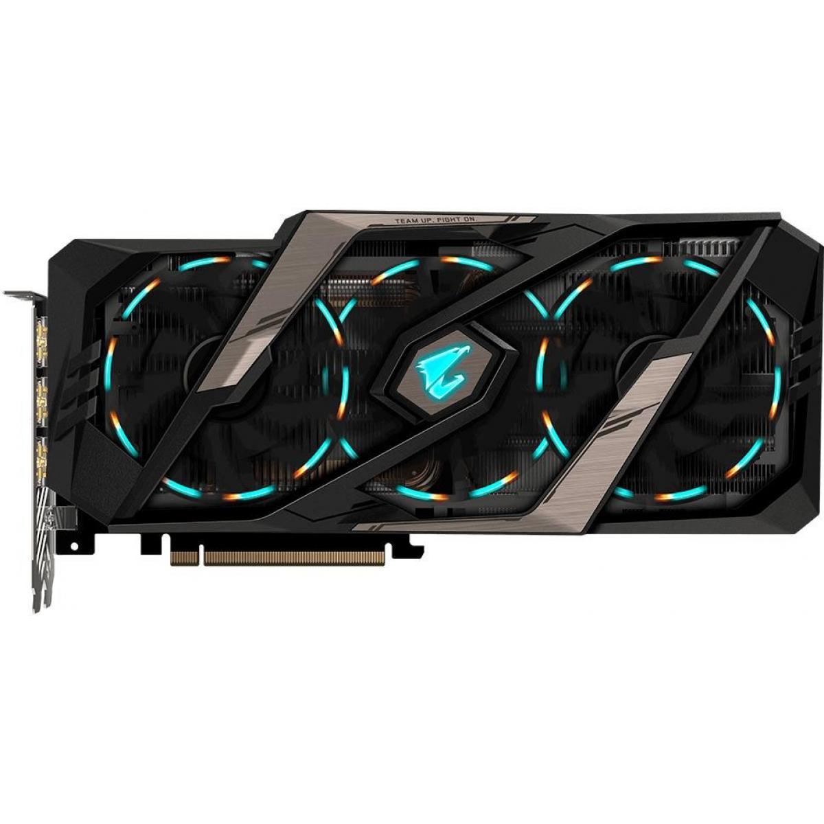 Placa de Video Gigabyte GeForce RTX 2080 Ti Aorus, 11GB GDDR6, 352Bit
