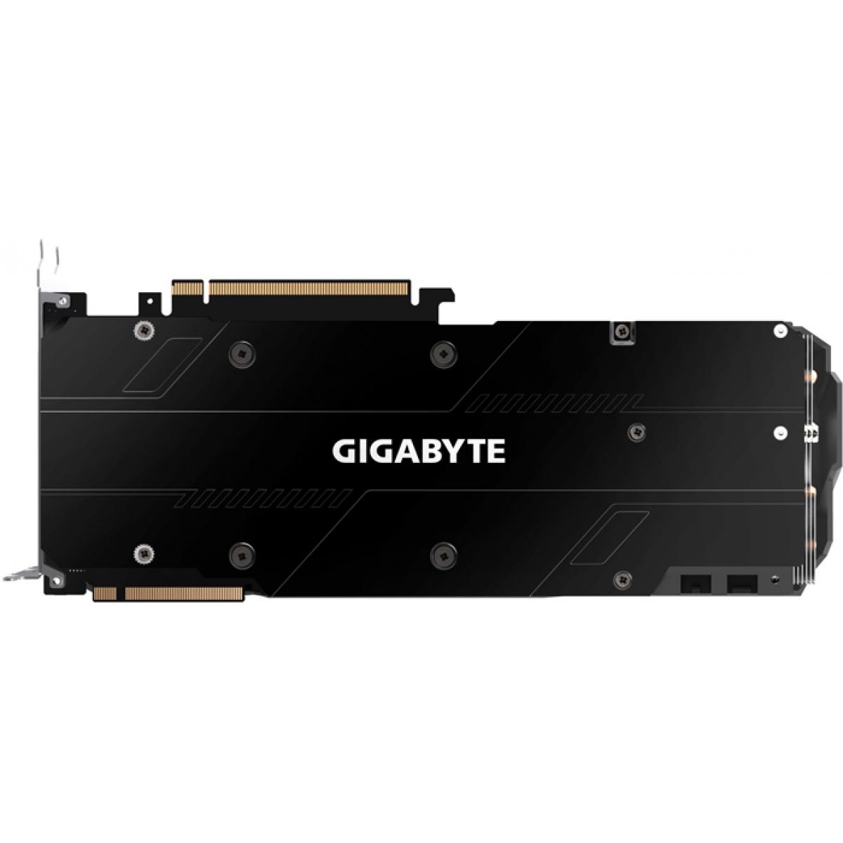 Placa De Vídeo Gigabyte Geforce RTX 2080 Windforce OC 8GB GV-N2080WF3OC-8GC GDDR6 PCI-EXP