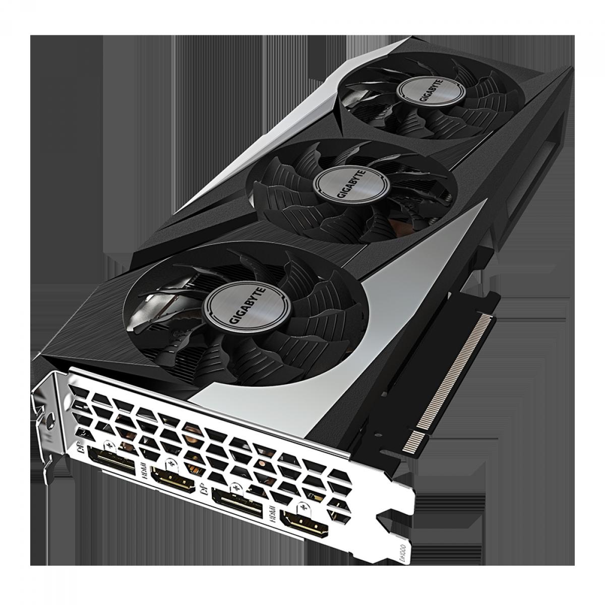 Placa de Vídeo Gigabyte GeForce RTX 3060 Gaming OC, LHR, 12GB, GDDR6, DLSS, Ray Tracing, GV-N3060GAMING OC-12GD