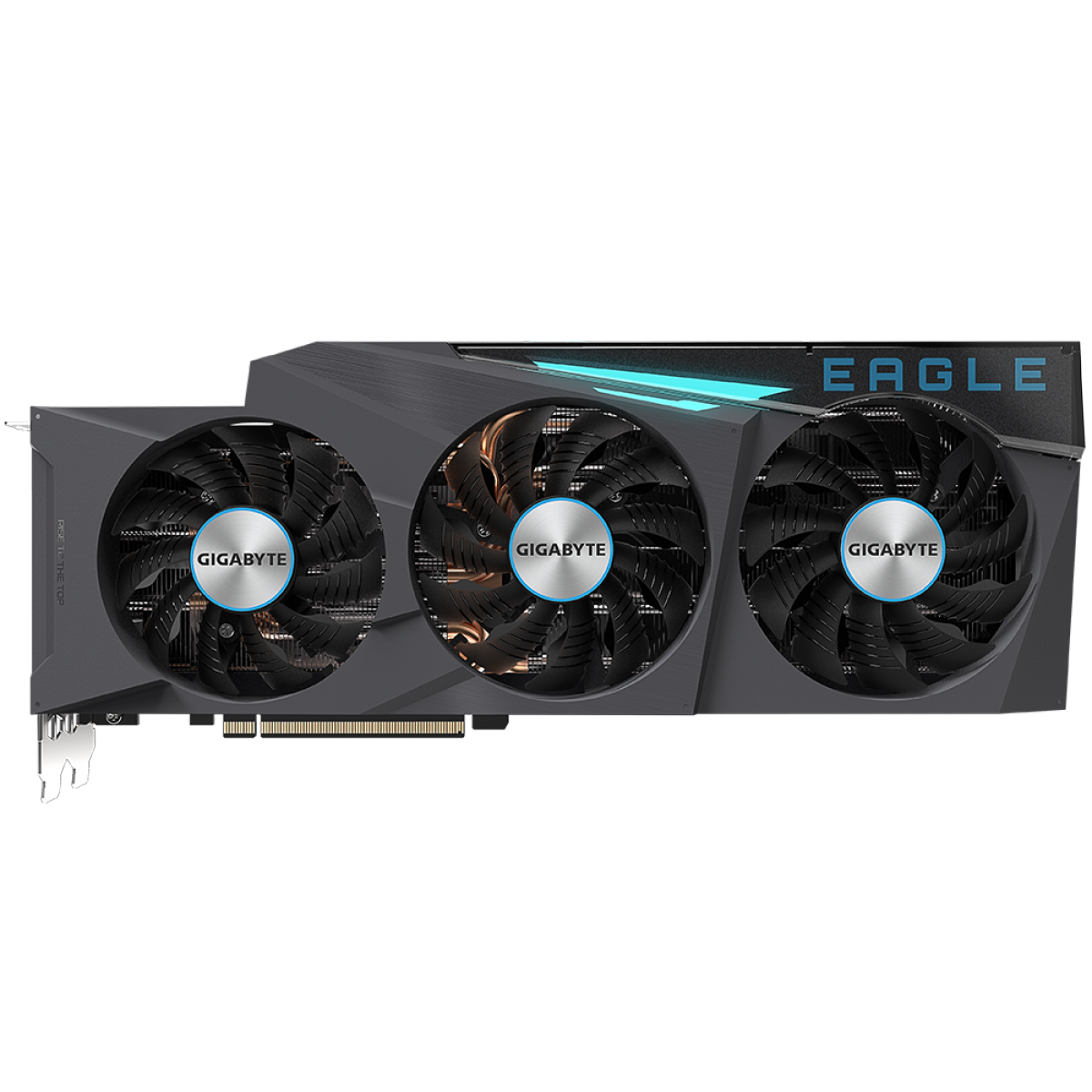Placa de Vídeo Gigabyte GeForce, RTX 3080 Eagle OC 10G, 10GB, GDDR6X, 320Bit, GV-N3080EAGLEOC-10GD