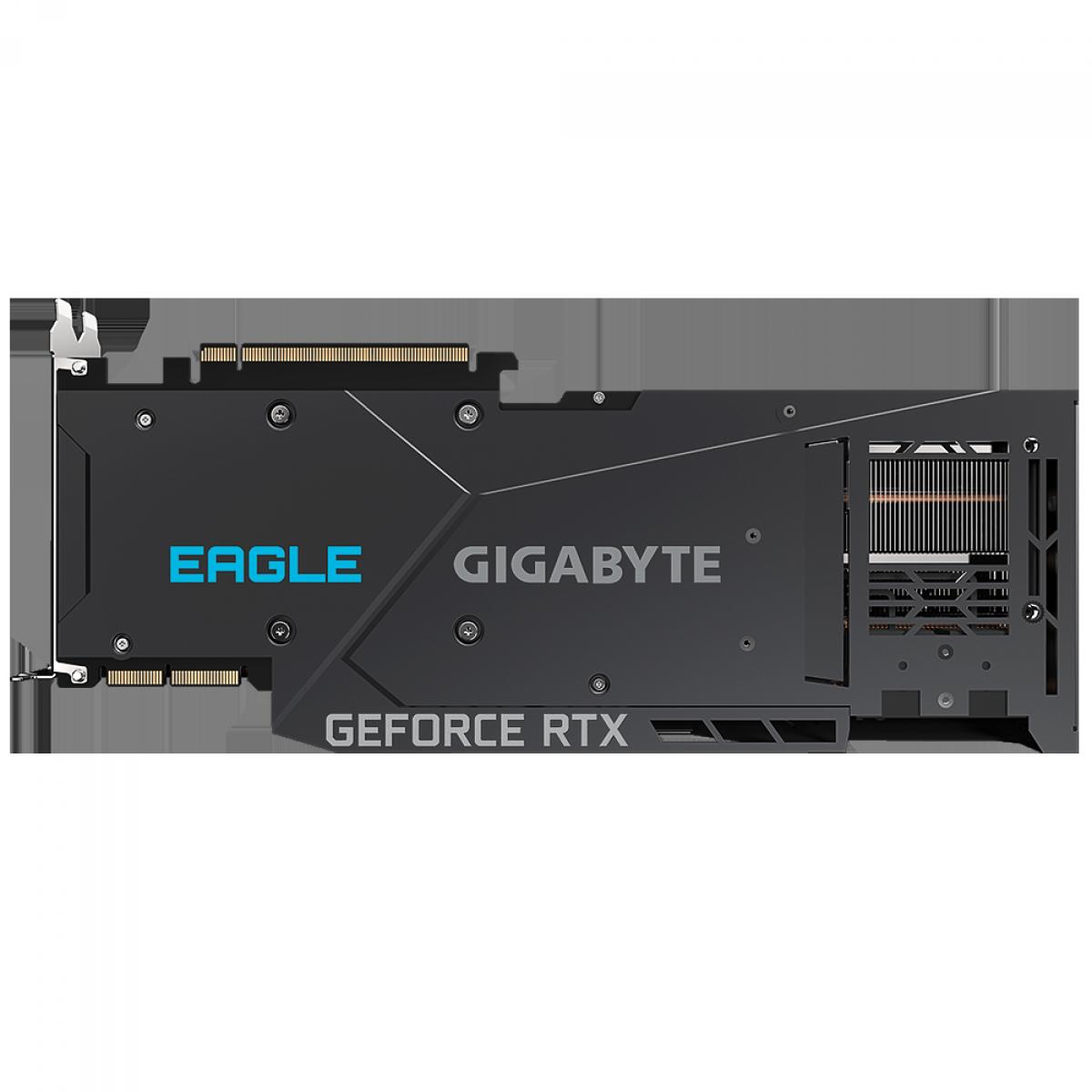 Placa de Vídeo Gigabyte GeForce, RTX 3090 Eagle OC 24G, 24GB, GDDR6X, 384Bit, GV-N3090EAGLE OC-24GD