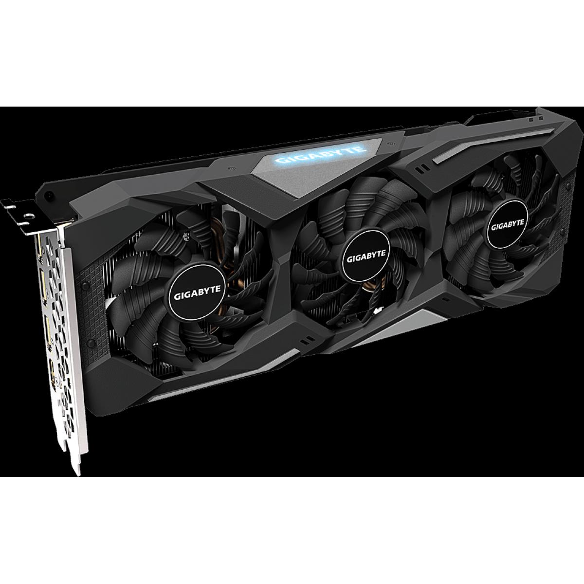 Placa de Vídeo Gigabyte Radeon RX 5500 XT  Gaming OC, 4GB GDDR6, 128Bit, GV-R55XTGAMING OC-4GD