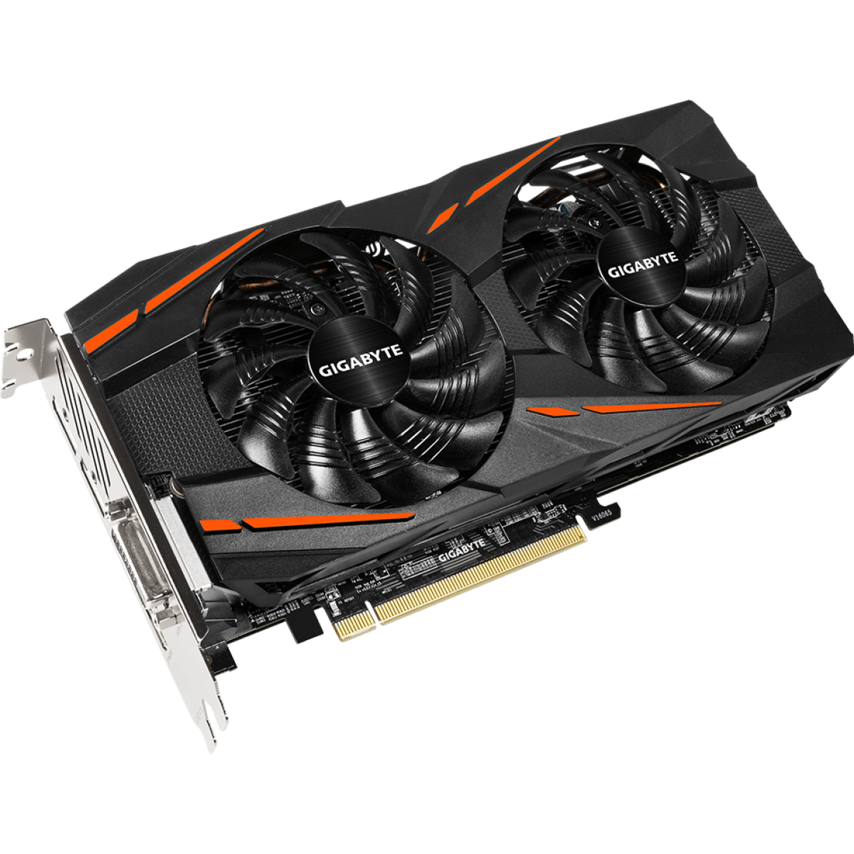 Placa de Vídeo Gigabyte Radeon RX 580 Gaming Dual, 8GB GDDR5, 256Bit, GV-RX580GAMING-8GD