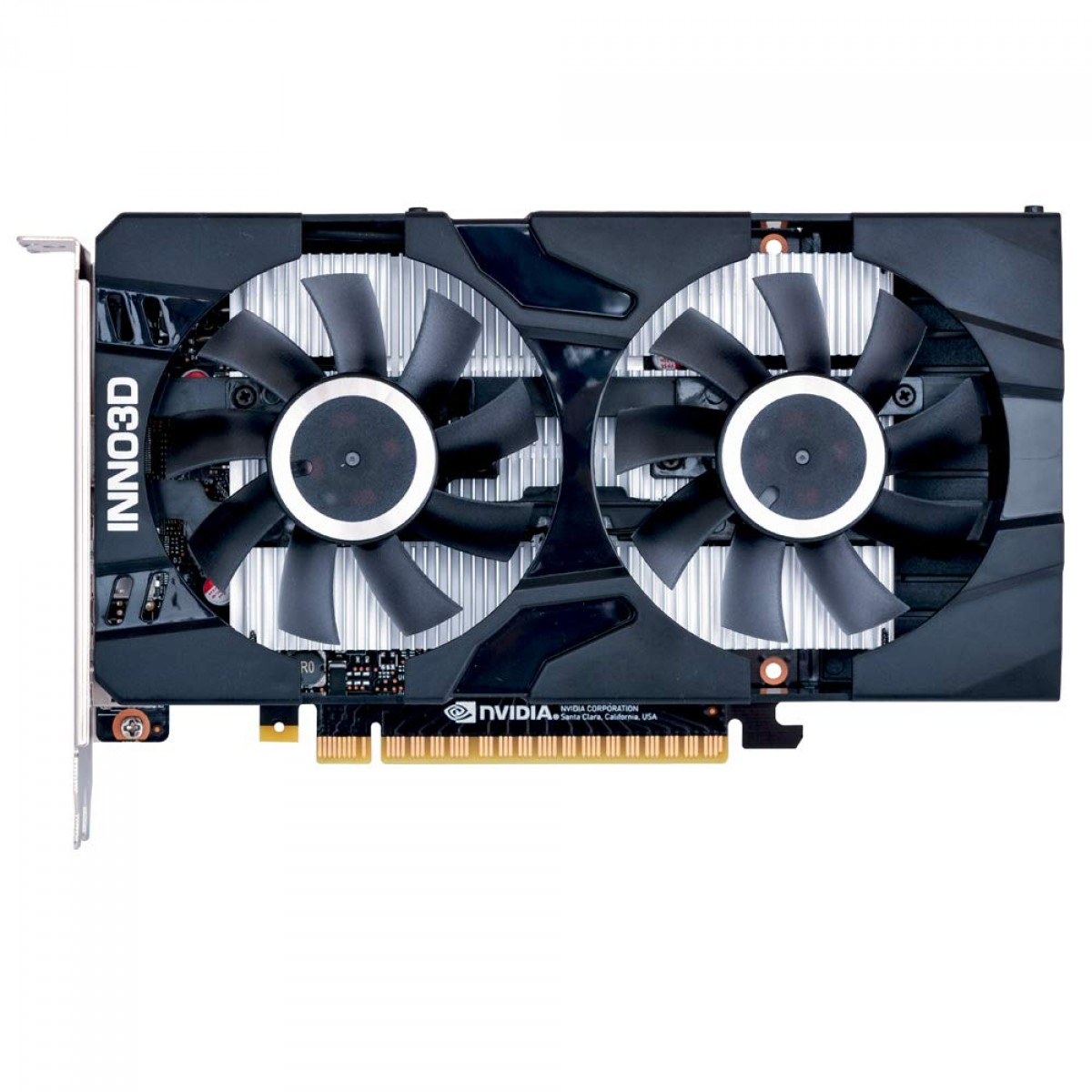Placa de Vídeo Inno3D GeForce GTX 1650 Twin X2 OC, 4GB GDDR6, 128Bit, N16502-04D6X-1720VA30