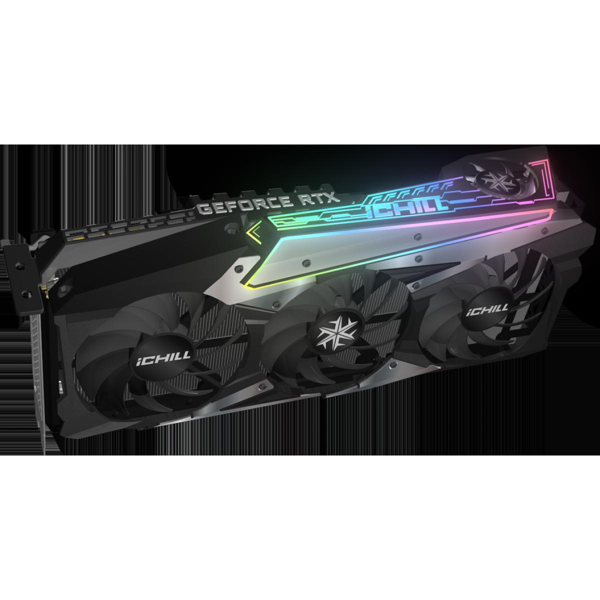 Placa de Vídeo INNO3D Geforce, ICHILL X4, RTX 3080, 10GB, GDDR6X, 320bit, C30804-106XX-1810VA36