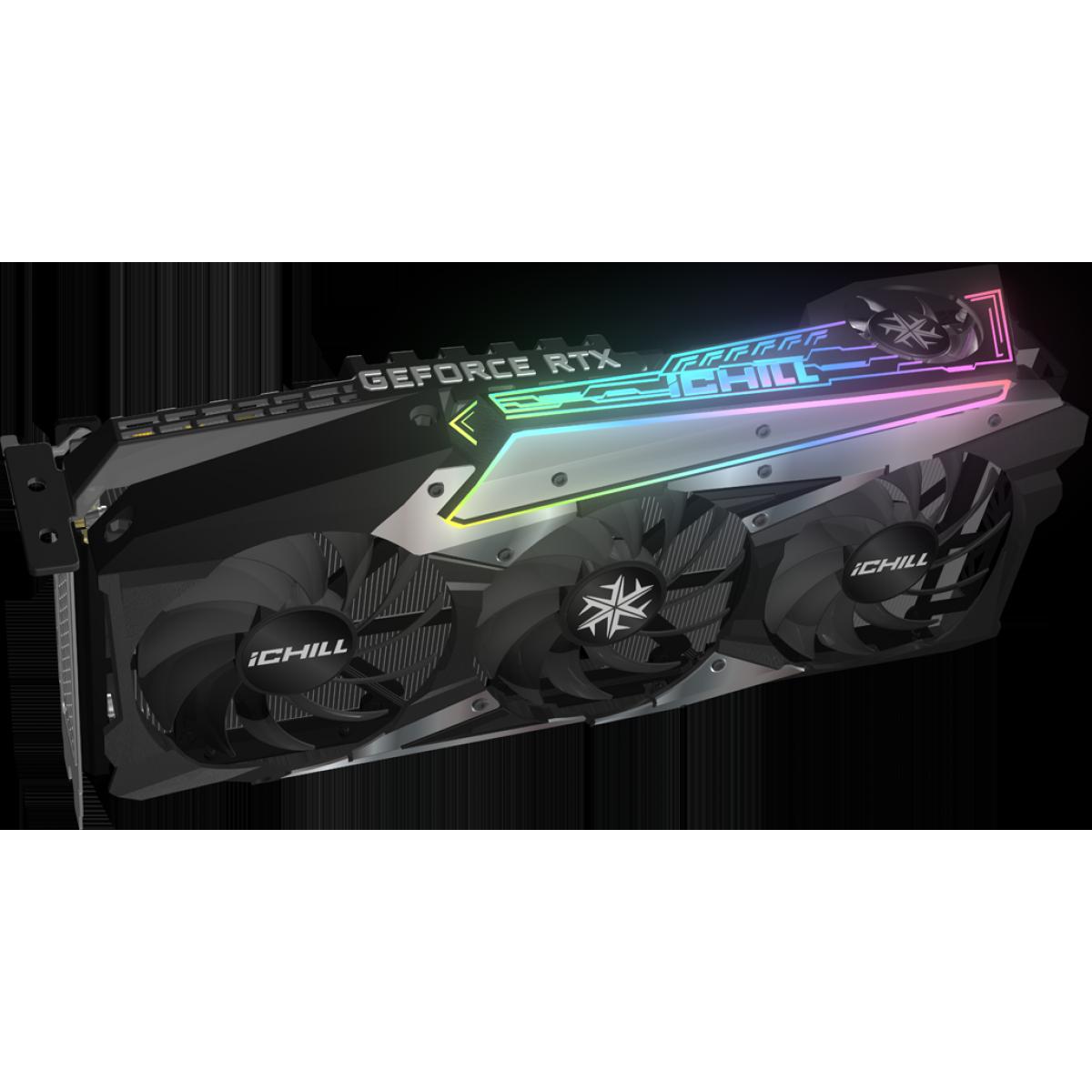 Placa de Vídeo INNO3D Geforce, ICHILL X4, RTX 3090, 24GB, GDDR6X, 384bit, C30904-246XX-1880VA36