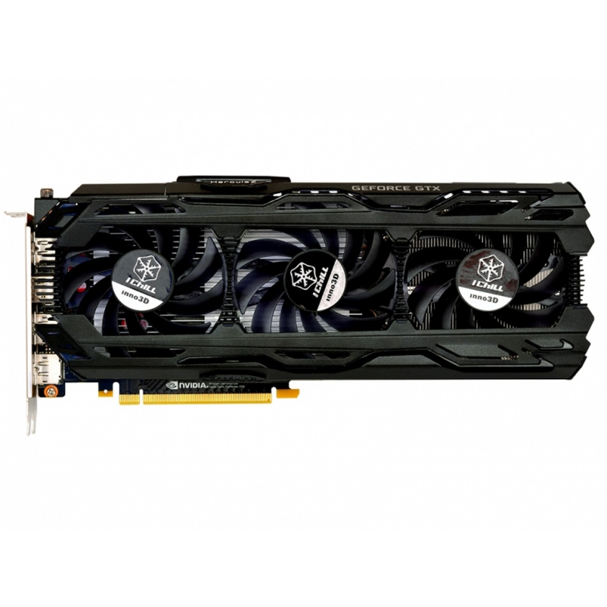 Placa de Vídeo Inno3D GeForce RTX 2060 iChill X3, 6GB GDDR6, 192Bit