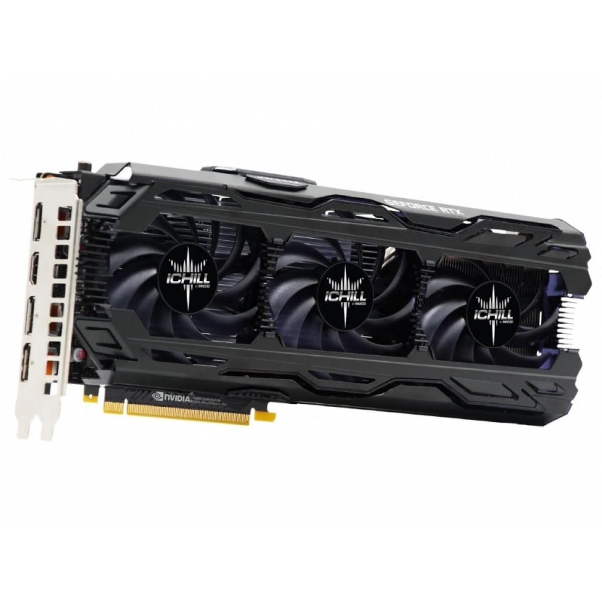 Placa de Vídeo Inno3D GeForce RTX 2060 Super iChill X3, 8GB GDDR6, 256Bit, C206S3-08D6X-1740VA28