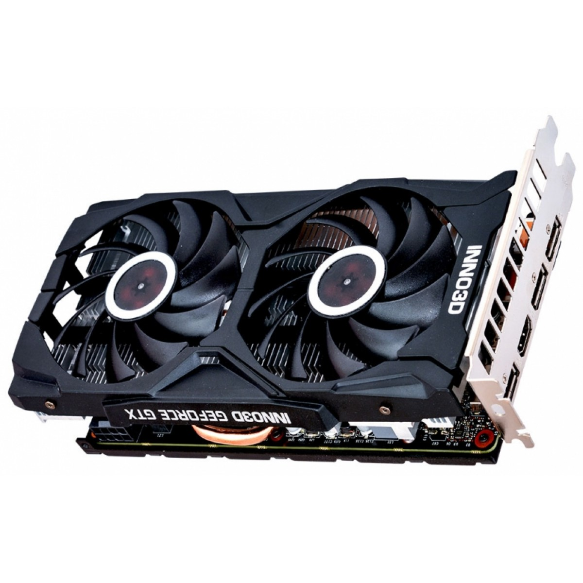 Placa de Vídeo Inno3D GeForce RTX 2060 Twin X2, 6GB GDDR6, 192Bit